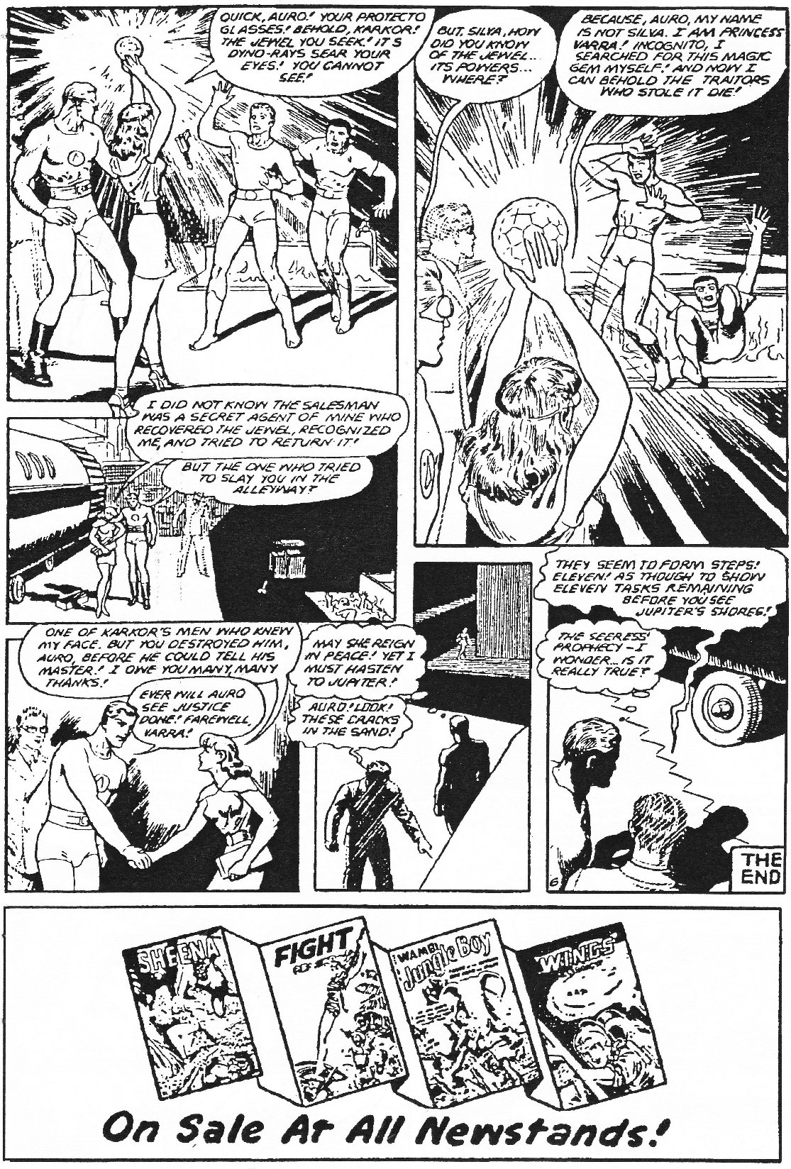 Read online Men of Mystery Comics comic -  Issue #84 - 168