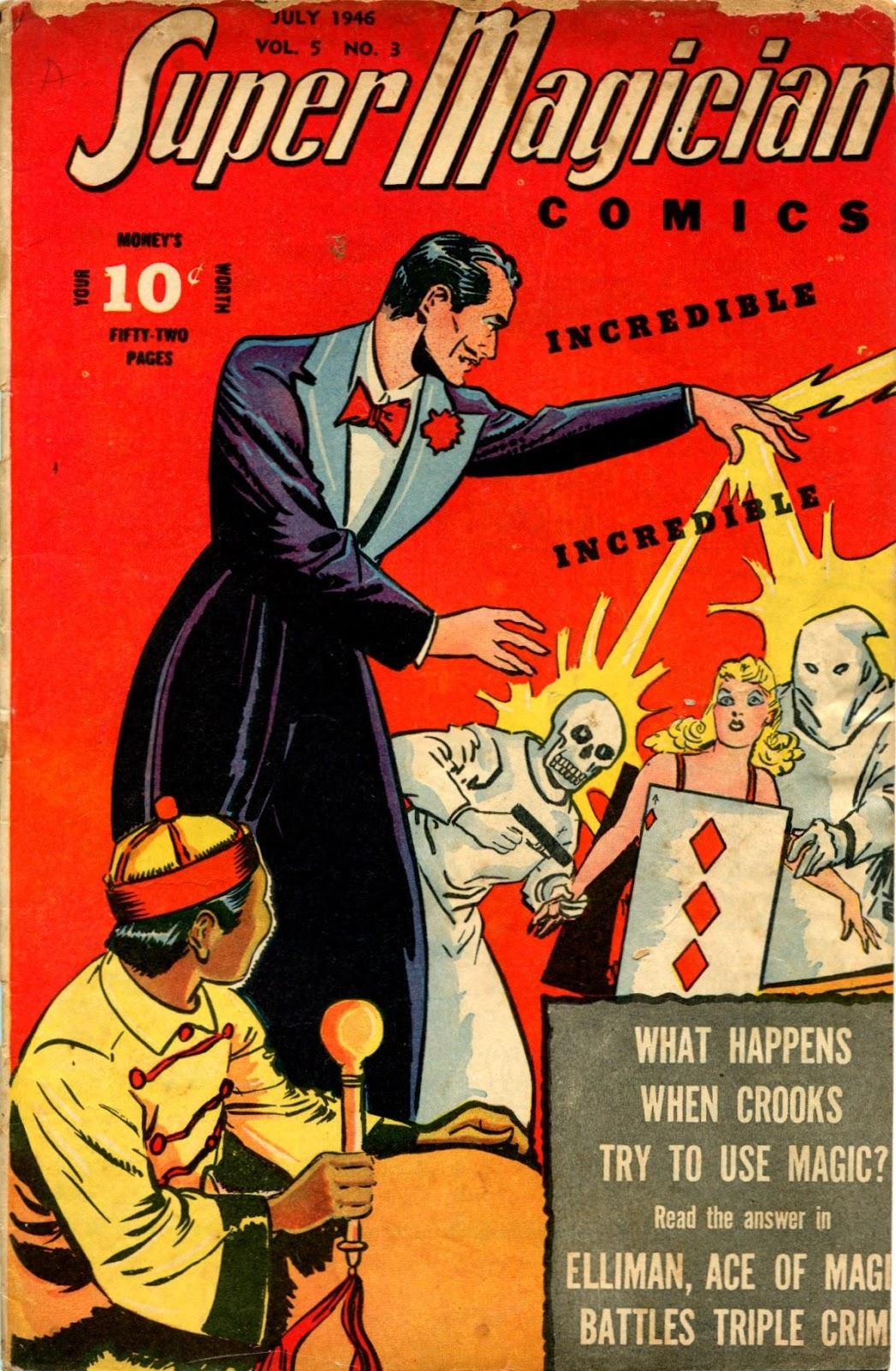 Super-Magician Comics issue 51 - Page 1
