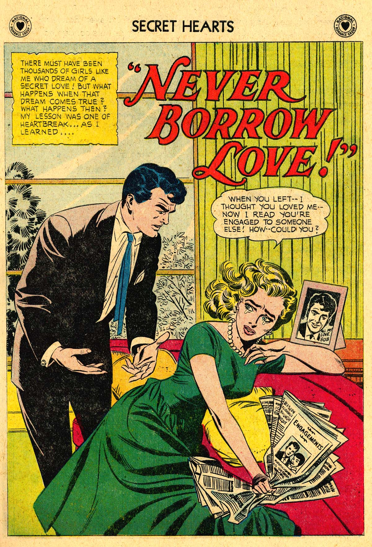 Read online Secret Hearts comic -  Issue #57 - 27