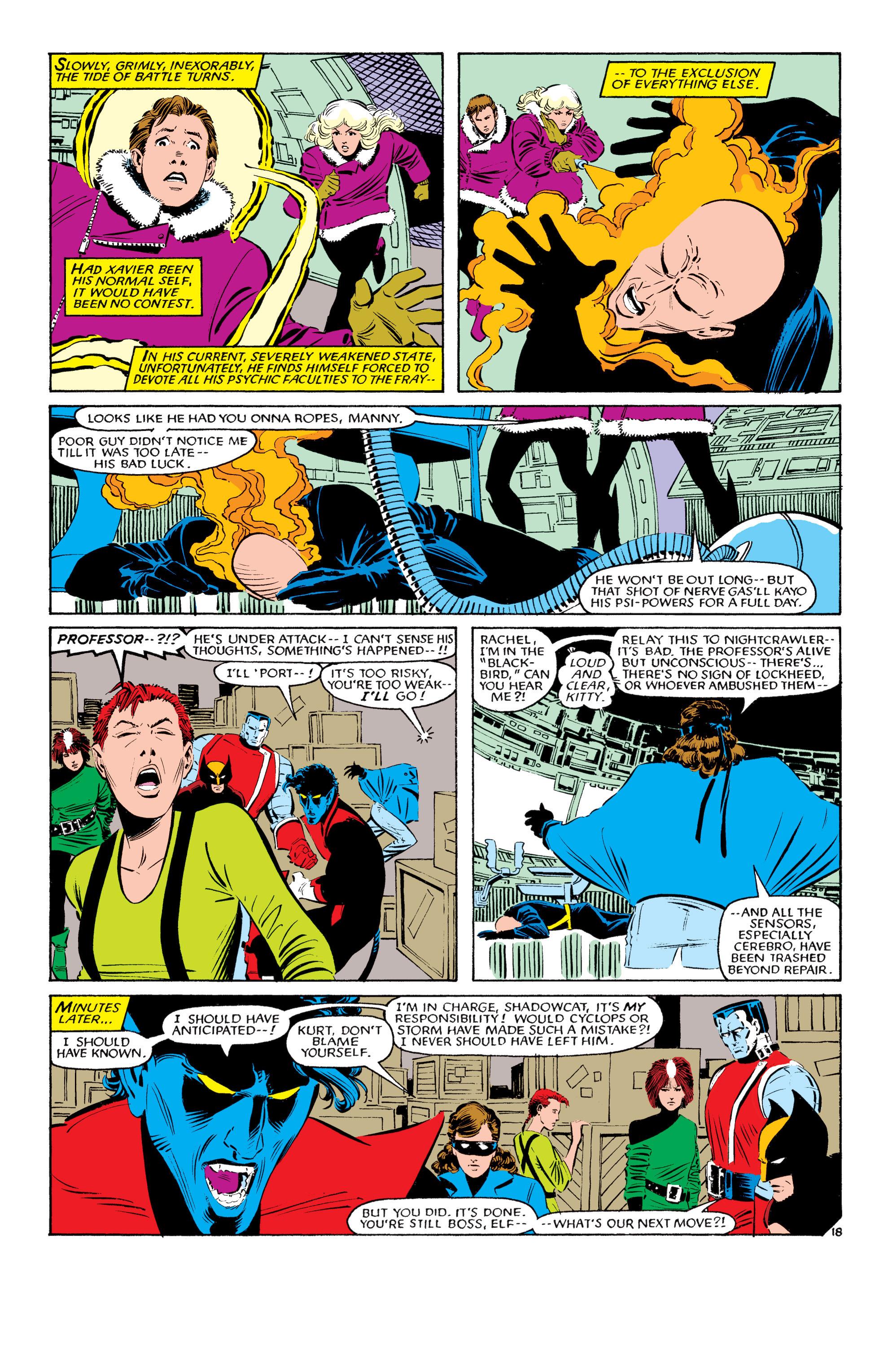 Read online Uncanny X-Men (1963) comic -  Issue #193 - 19