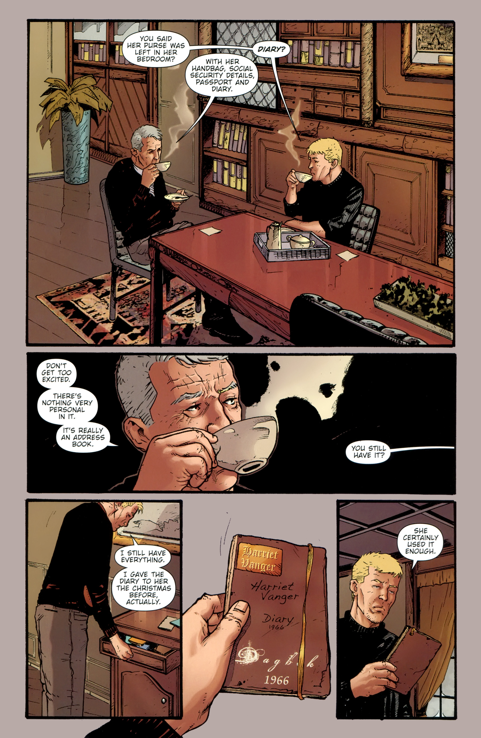 Read online The Girl With the Dragon Tattoo comic -  Issue # TPB 1 - 107