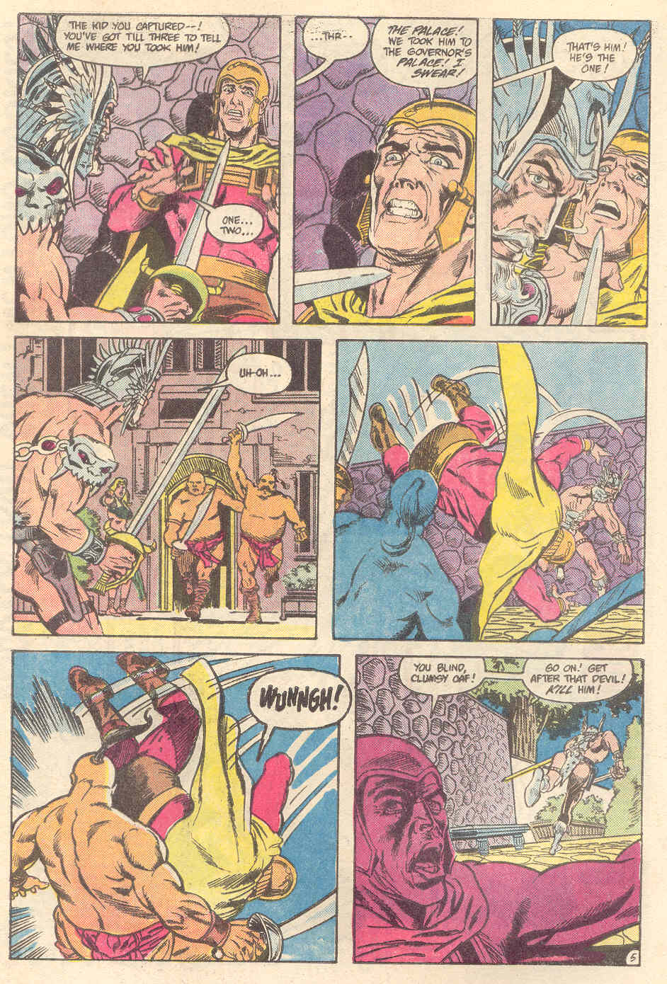 Warlord (1976) issue 89 - Page 5