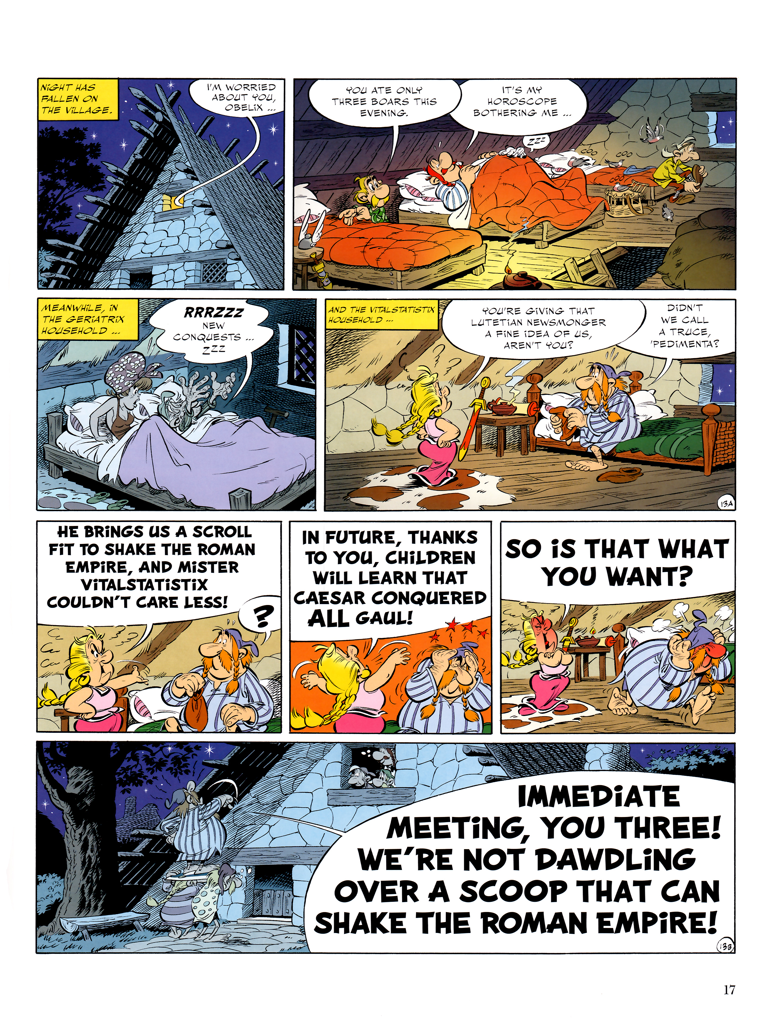 Read online Asterix comic -  Issue #36 - 18