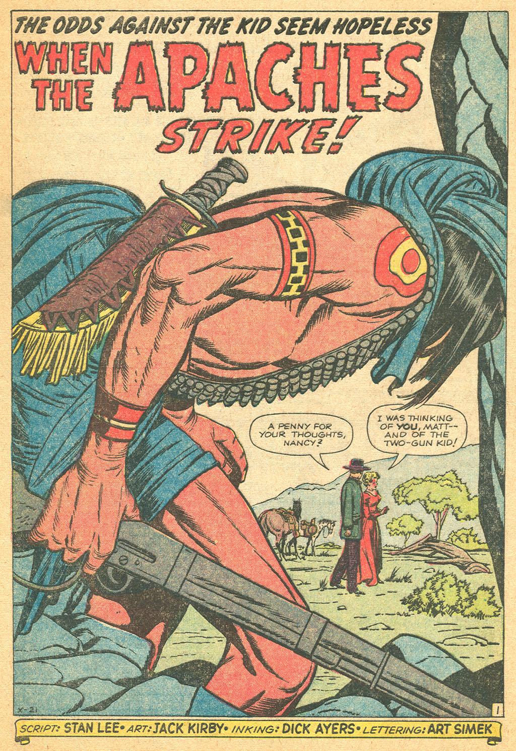 Read online Two-Gun Kid comic -  Issue #61 - 28