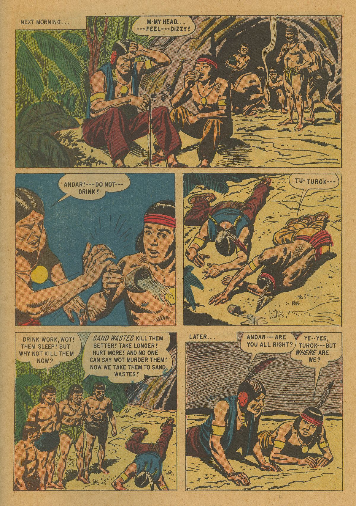 Read online Turok, Son of Stone comic -  Issue #21 - 27