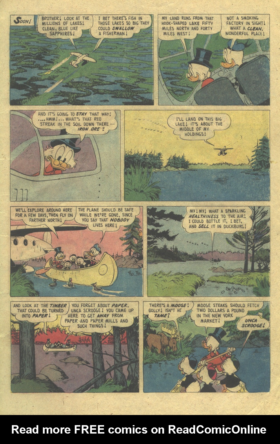 Read online Uncle Scrooge (1953) comic -  Issue #112 - 5