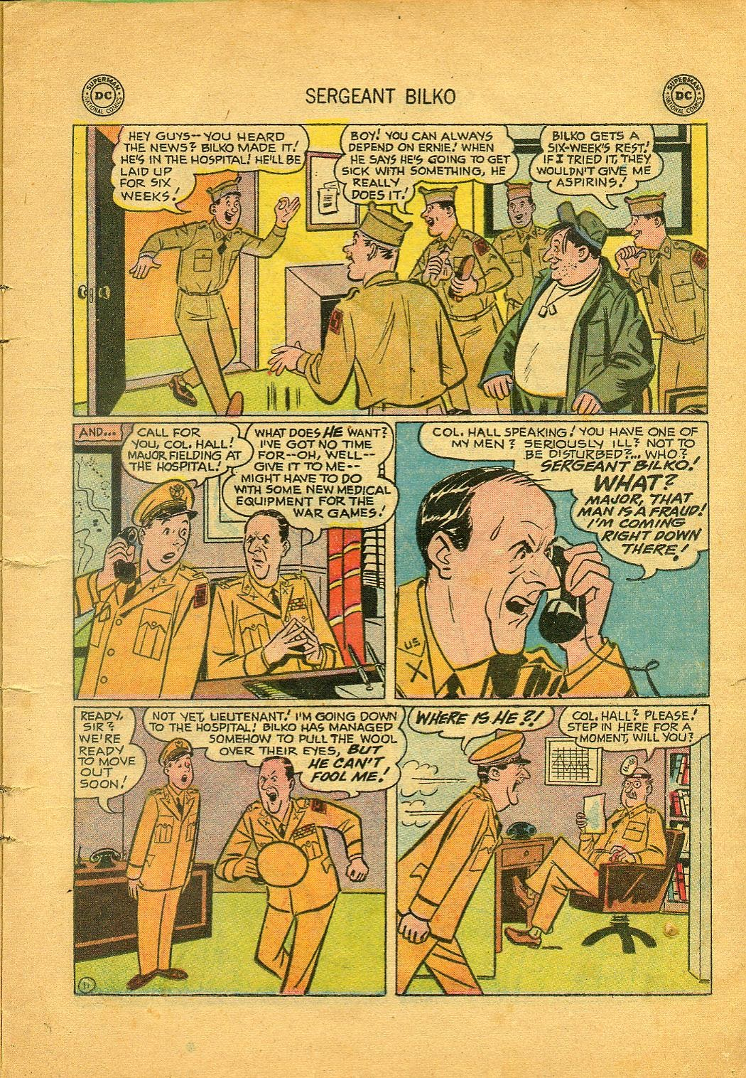 Sergeant Bilko issue 1 - Page 13