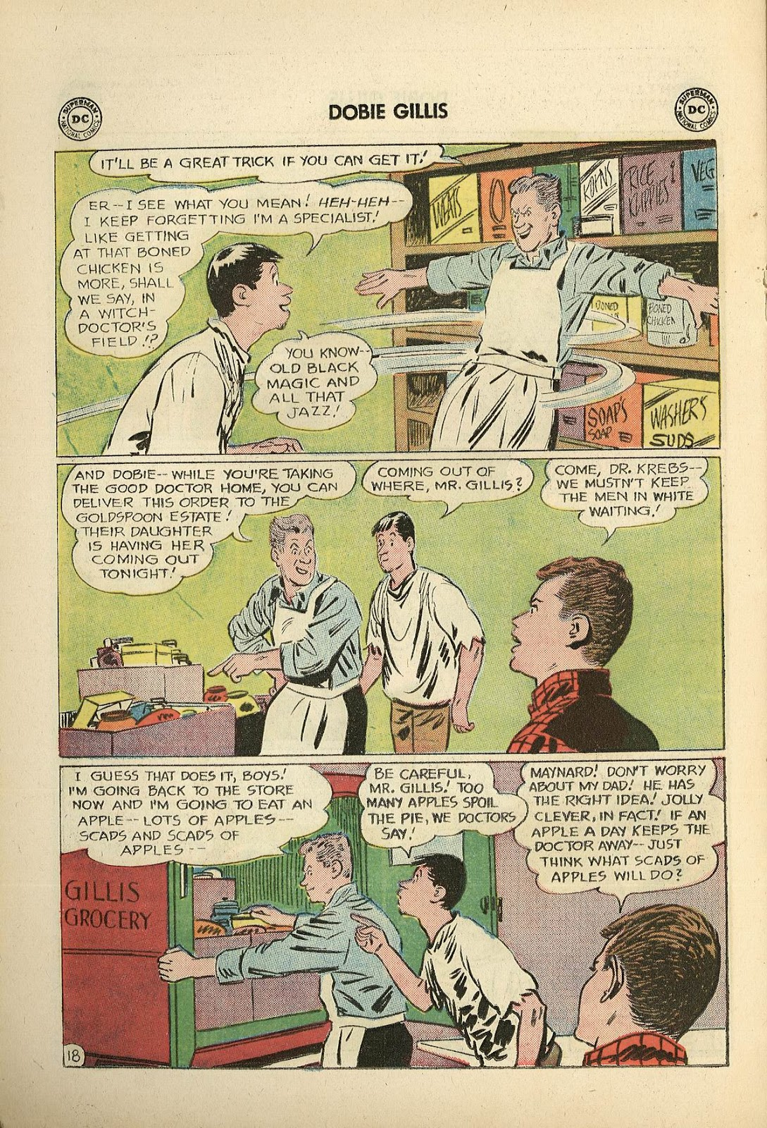 Many Loves of Dobie Gillis issue 22 - Page 22
