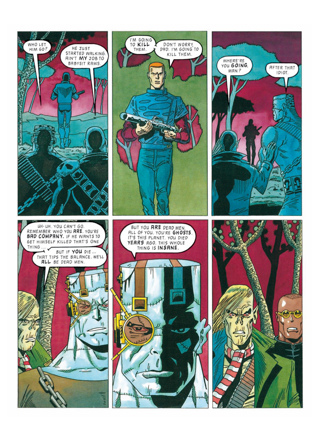 Read online The Complete Bad Company comic -  Issue # TPB - 308