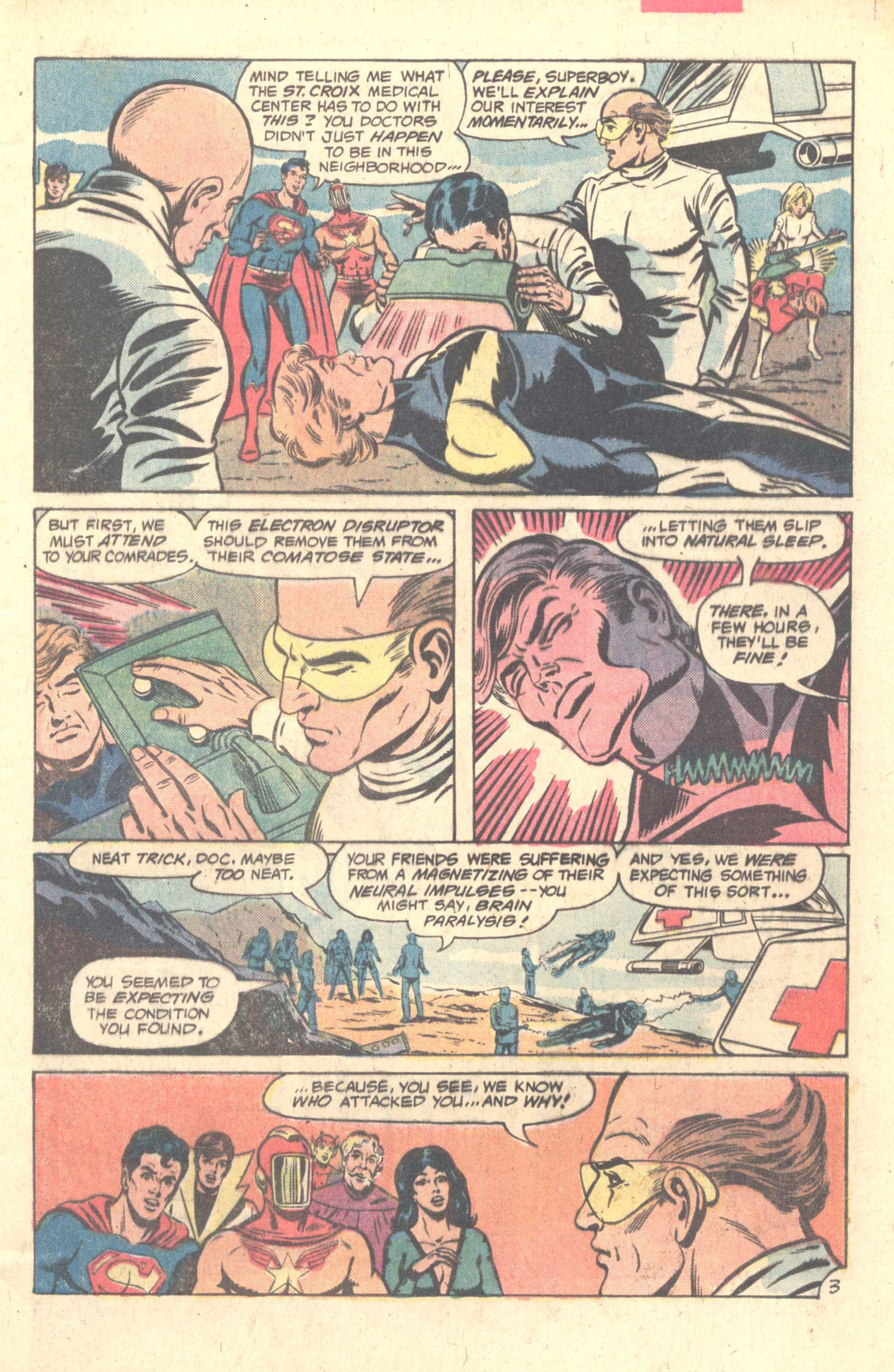 Legion of Super-Heroes (1980) 259 Page 4