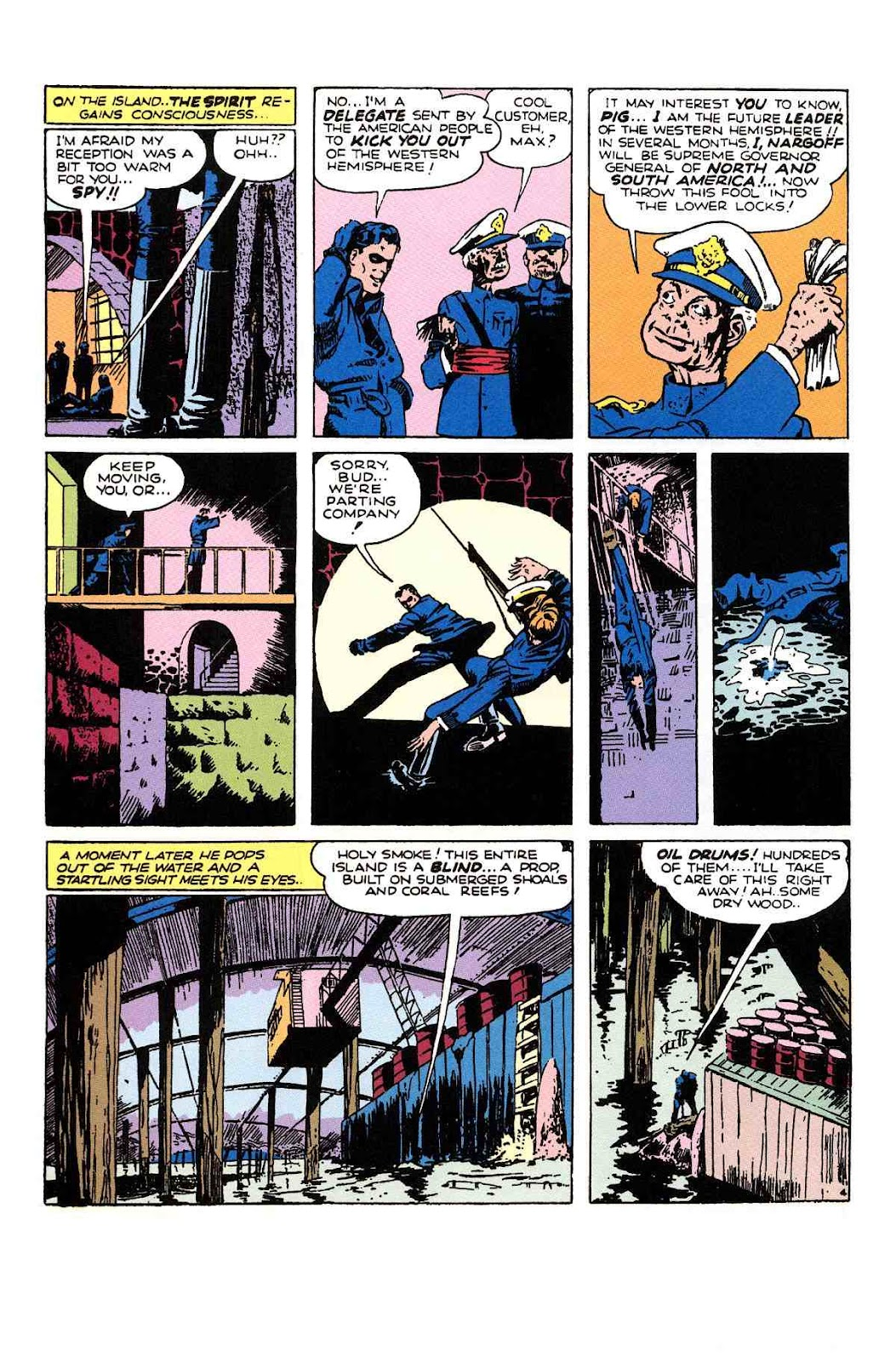 Read online Will Eisner's The Spirit Archives comic -  Issue # TPB 1 (Part 3) - 15