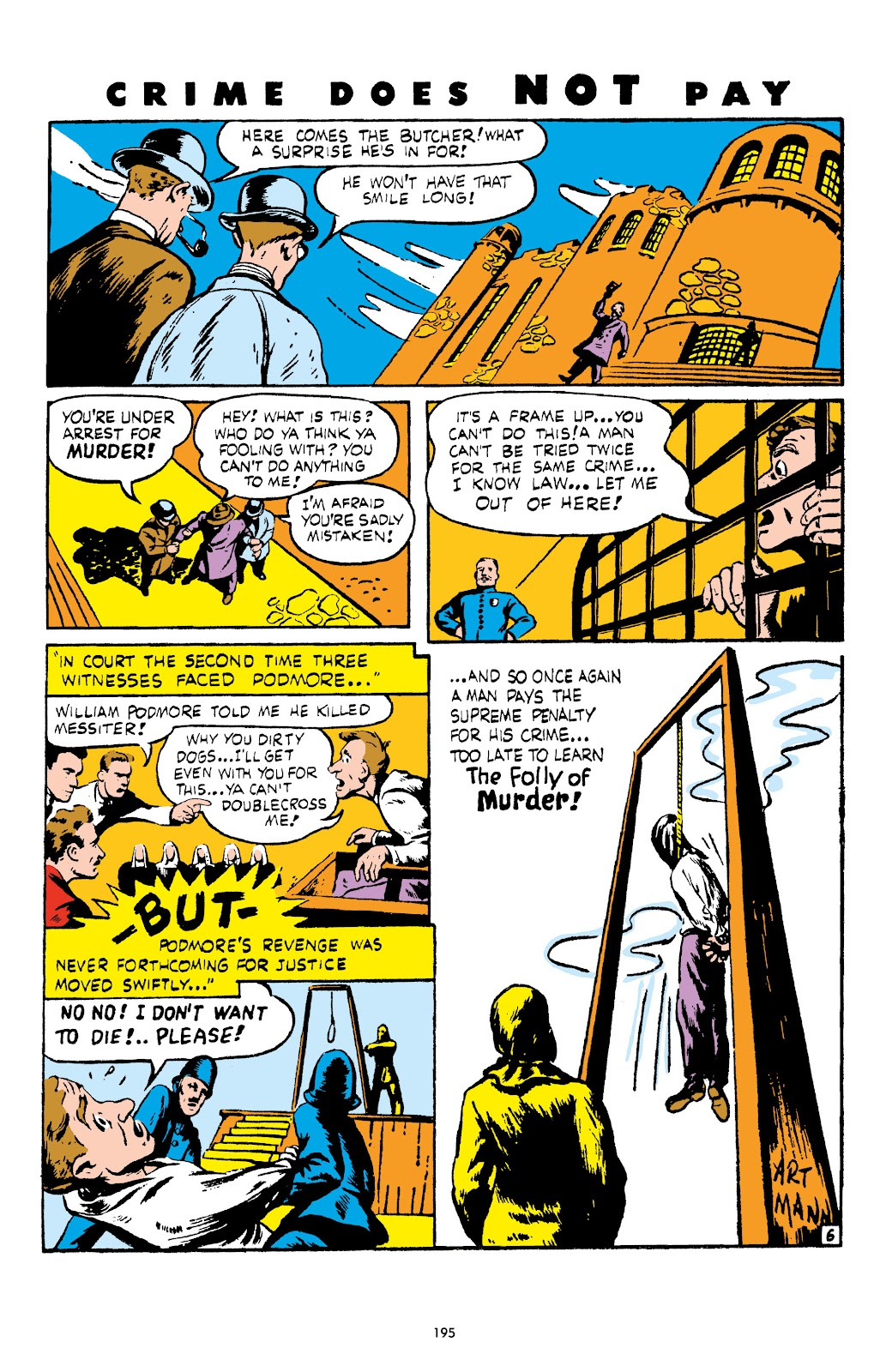 Read online Crime Does Not Pay Archives comic -  Issue # TPB 4 (Part 2) - 95