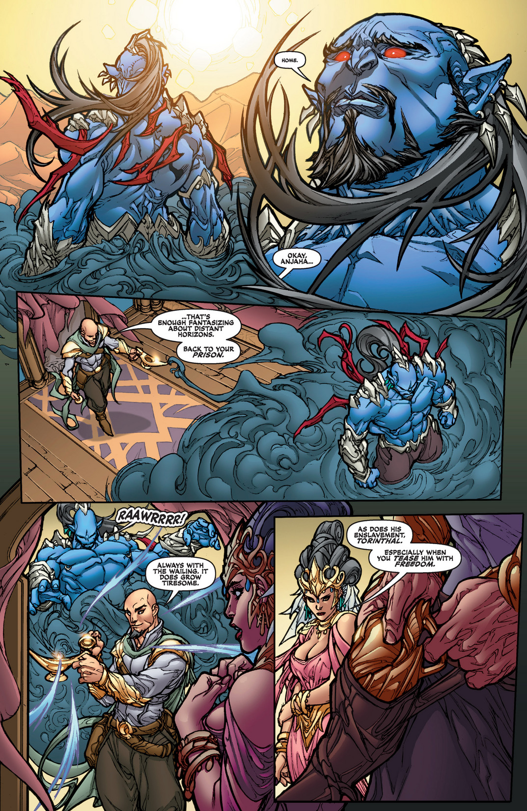 Read online Jirni comic -  Issue #1 - 19