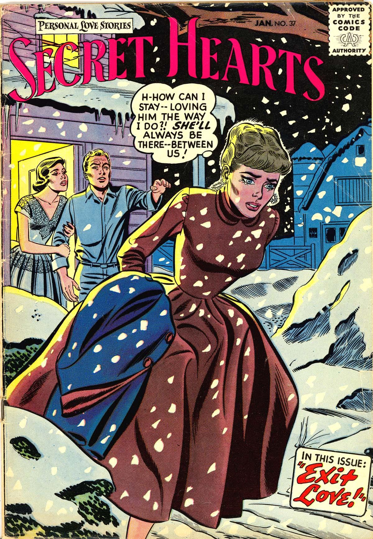 Read online Secret Hearts comic -  Issue #37 - 1