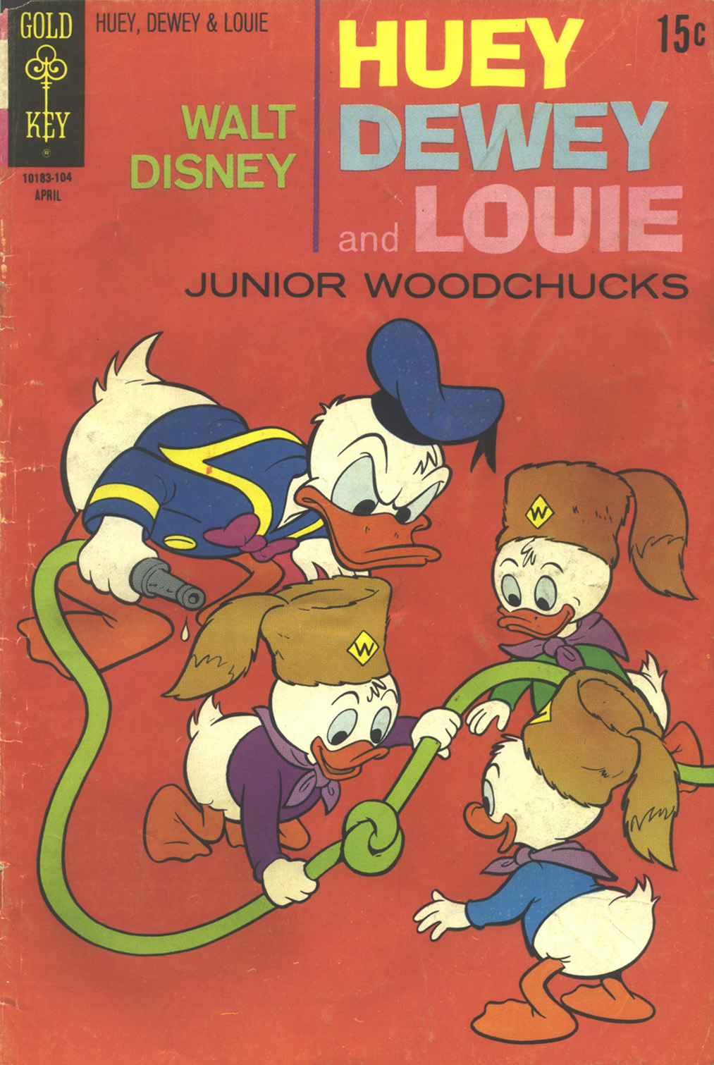 Huey, Dewey, and Louie Junior Woodchucks 9 Page 1