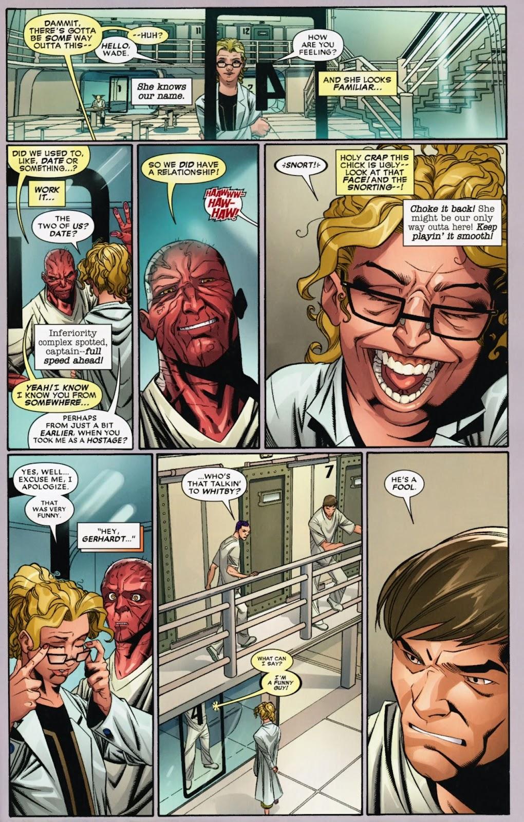 Read online Deadpool (2008) comic -  Issue #40 - 16