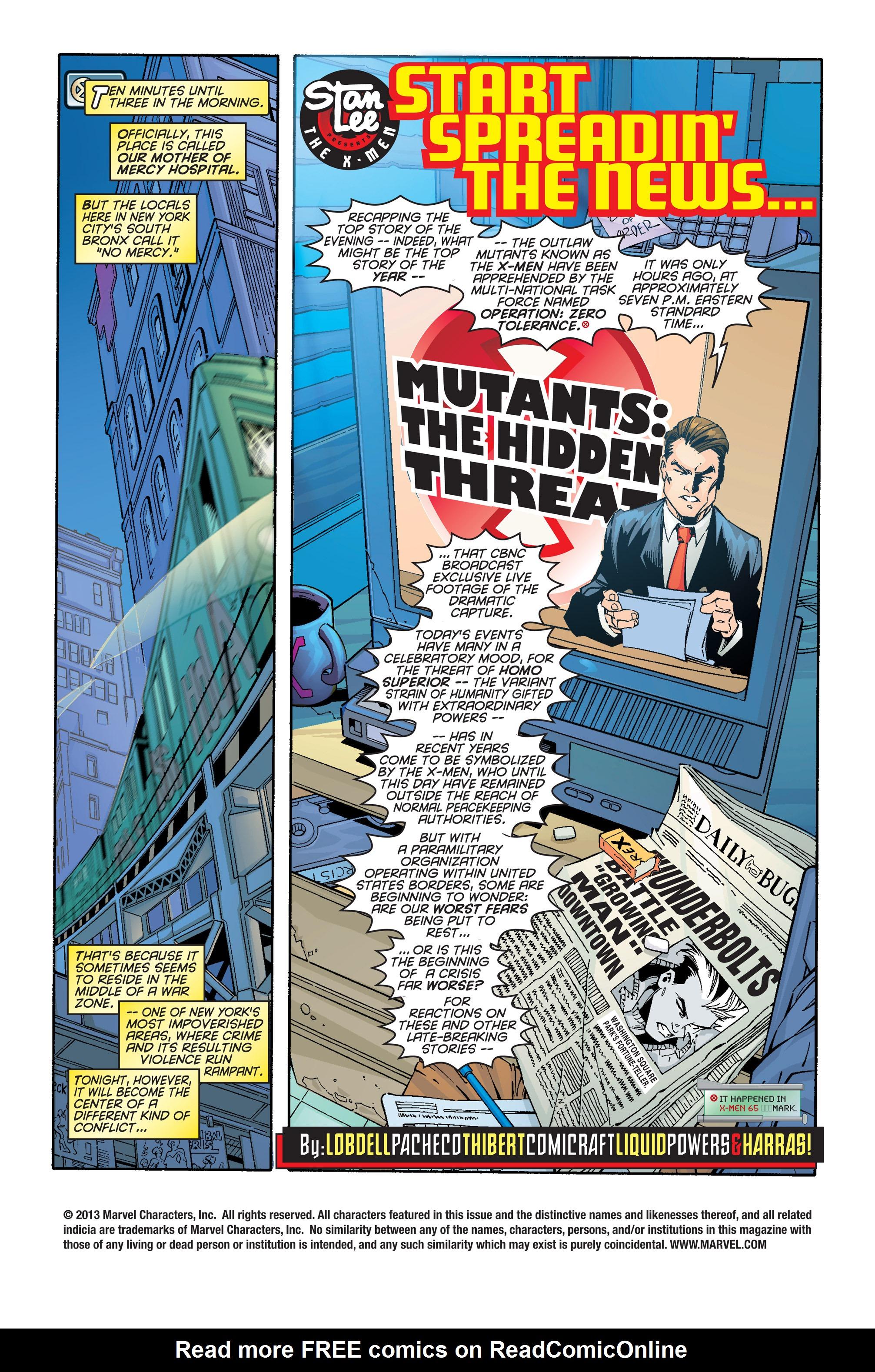 X-Men (1991) 66 Page 1