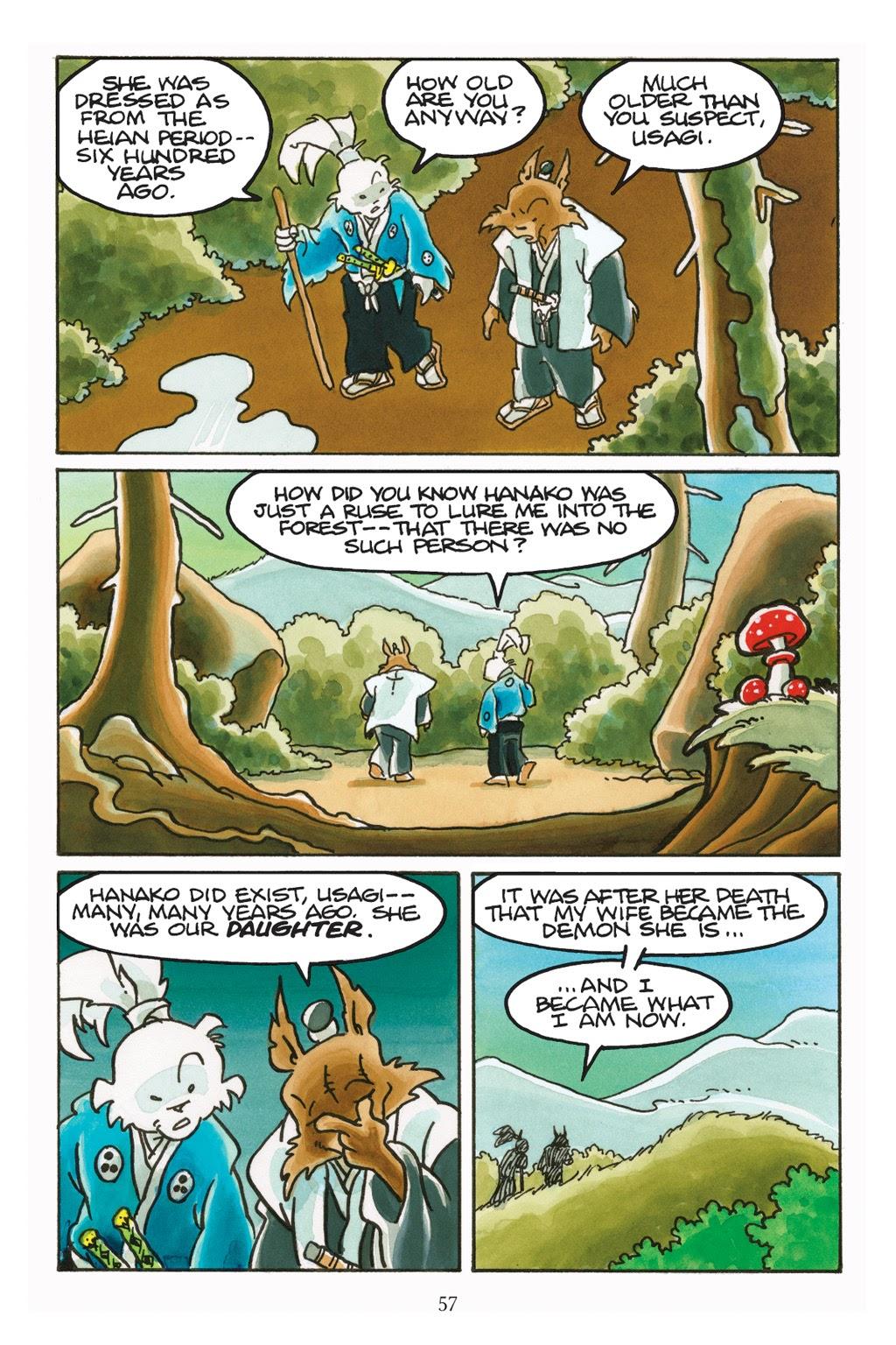 Read online Usagi Yojimbo: Yokai comic -  Issue # Full - 54