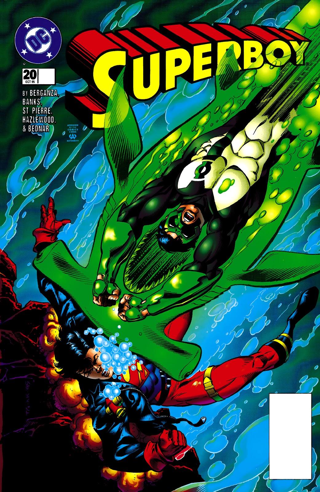Superboy (1994) 20 Page 1