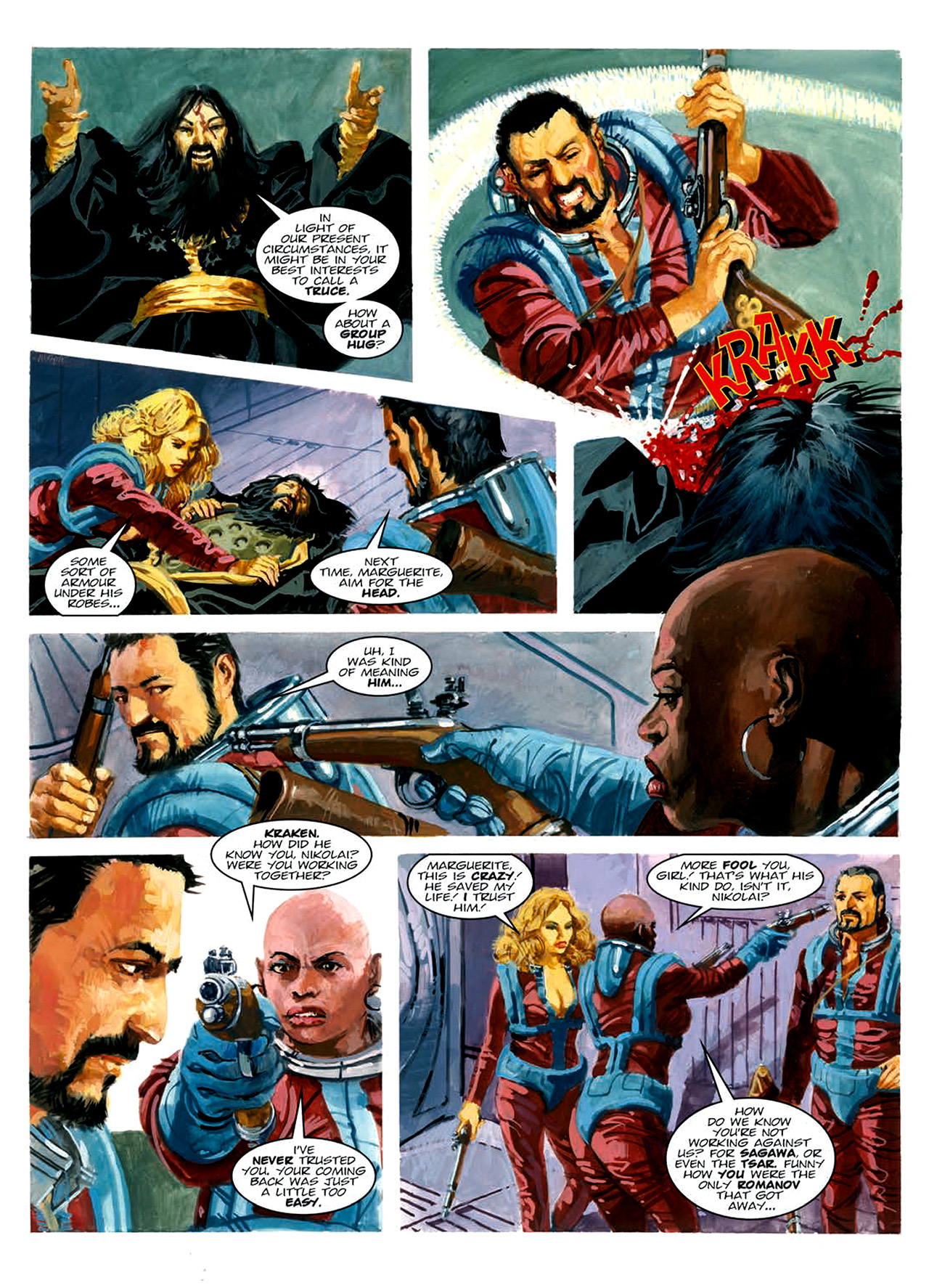 Read online Nikolai Dante comic -  Issue # TPB 6 - 184