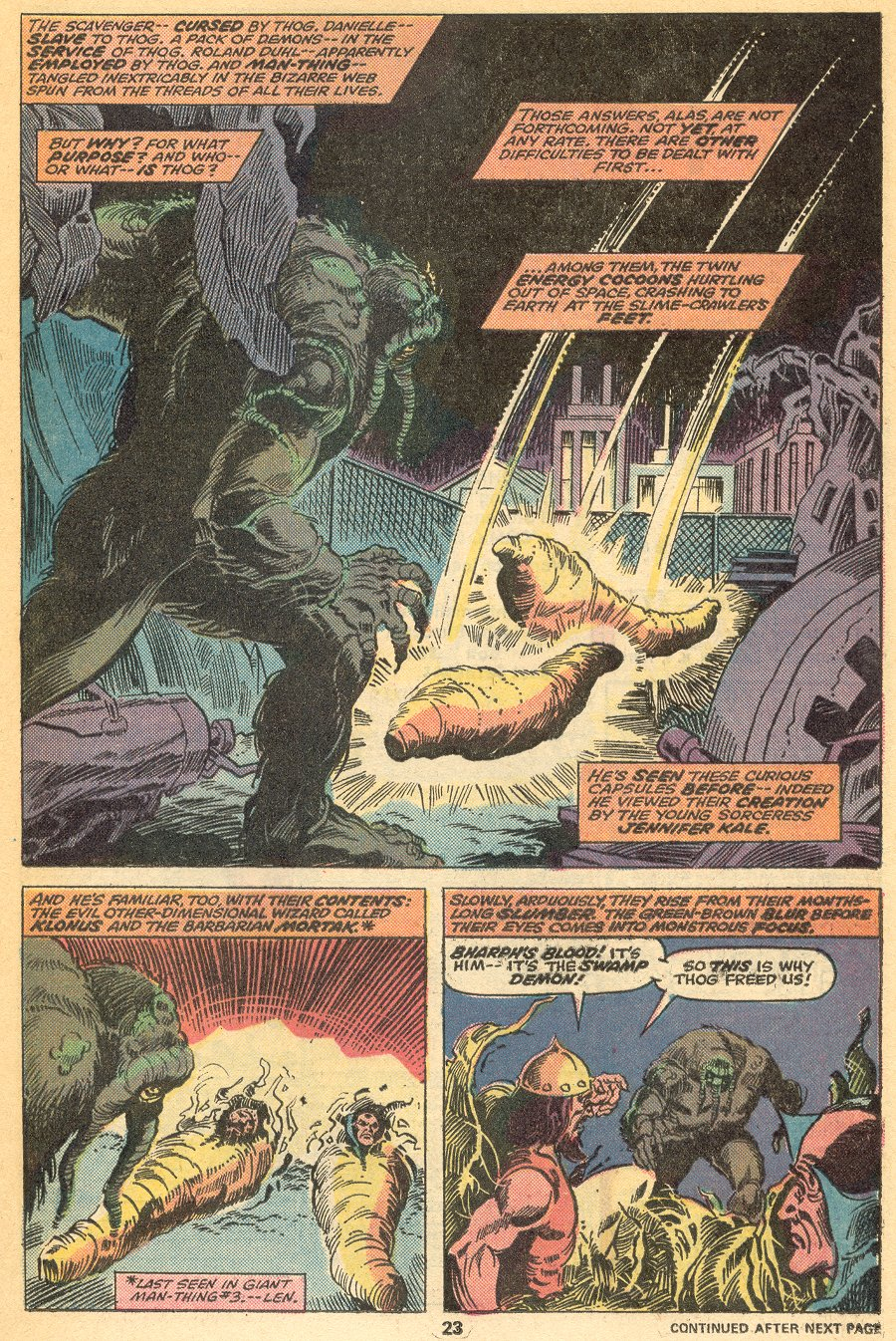 Man-Thing (1974) issue 21 - Page 17