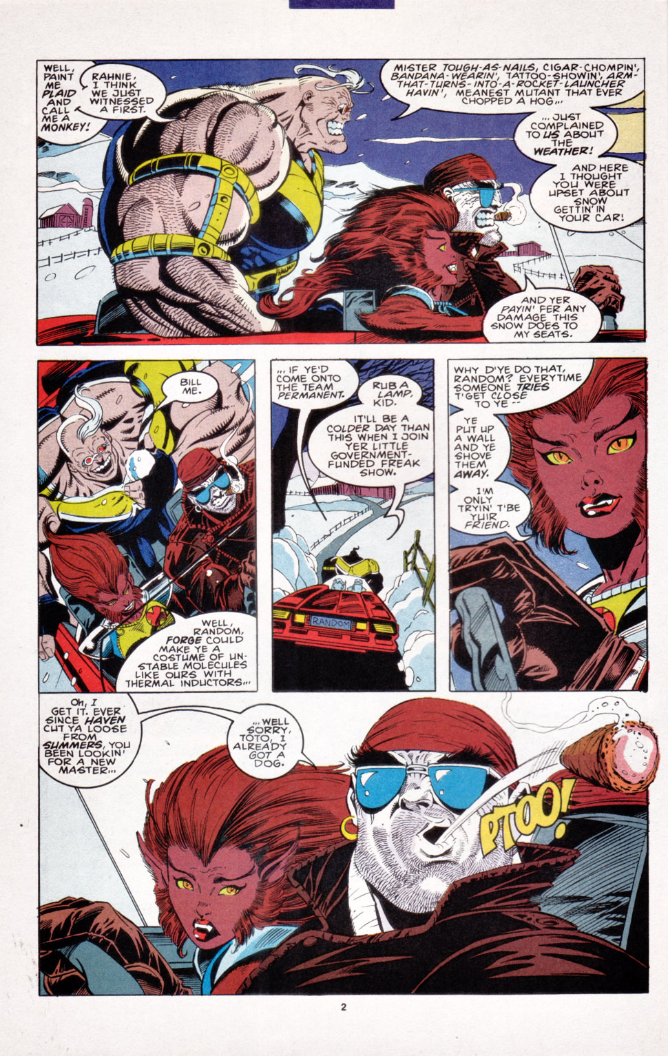 Read online X-Factor (1986) comic -  Issue #103 - 3