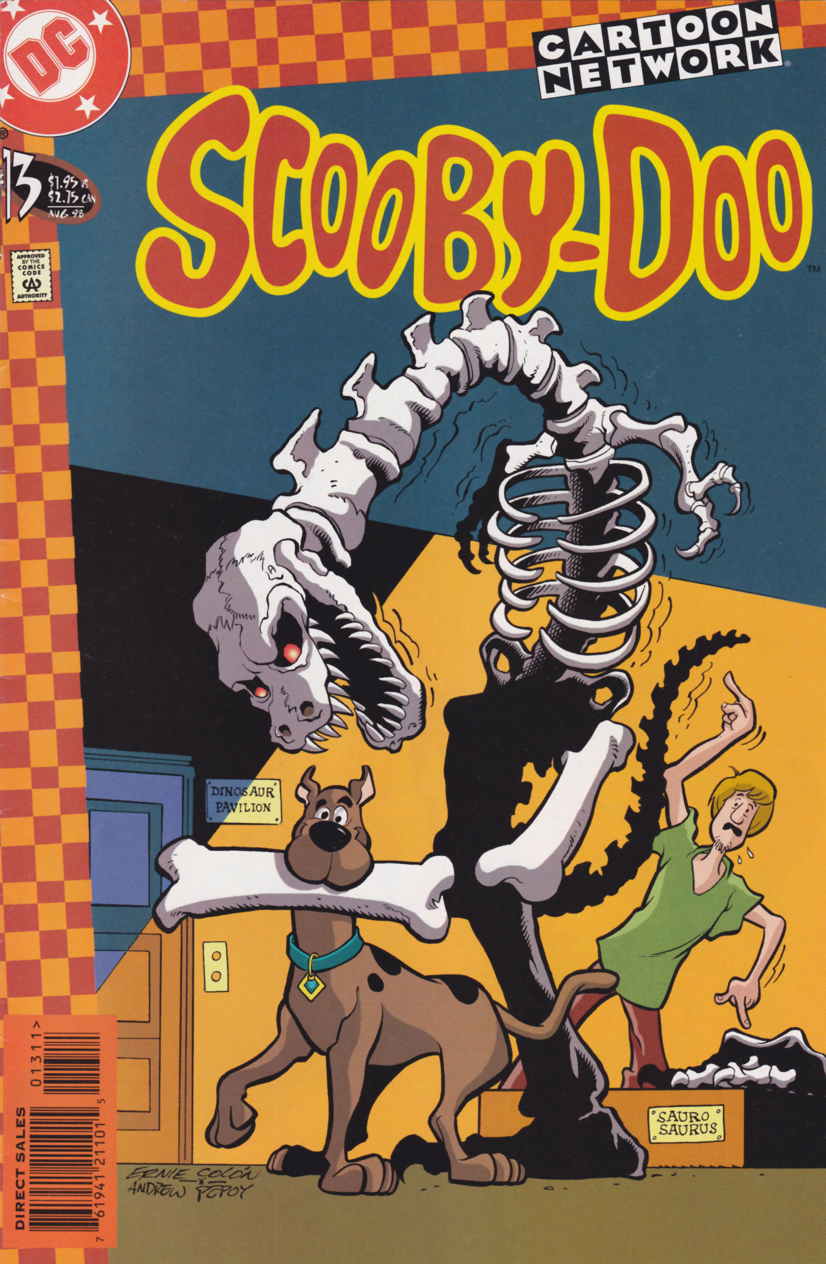 Read online Scooby-Doo (1997) comic -  Issue #13 - 1