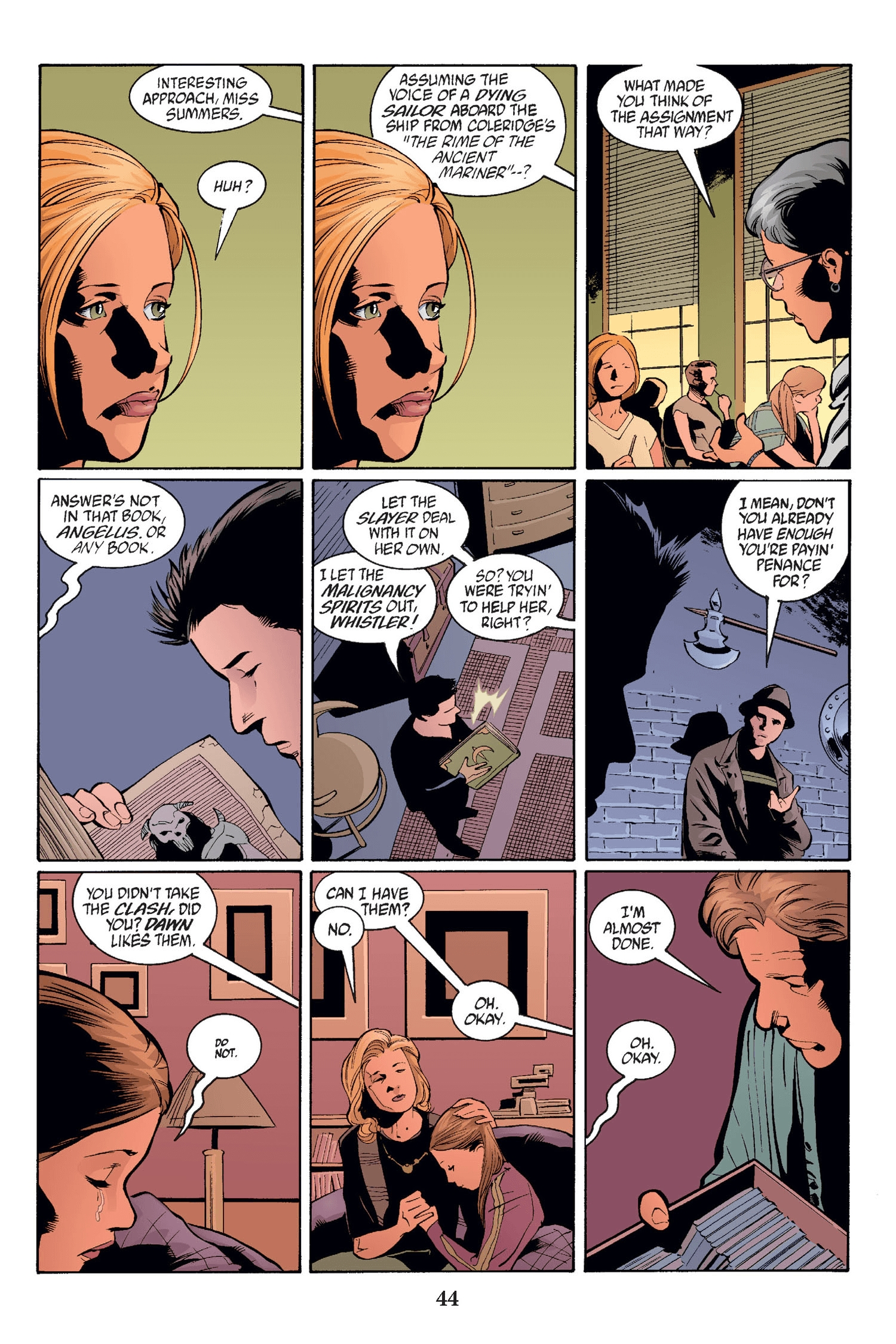 Read online Buffy the Vampire Slayer: Omnibus comic -  Issue # TPB 2 - 43