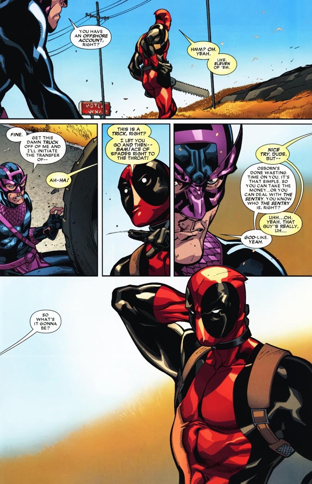 Read online Deadpool (2008) comic -  Issue #12 - 20