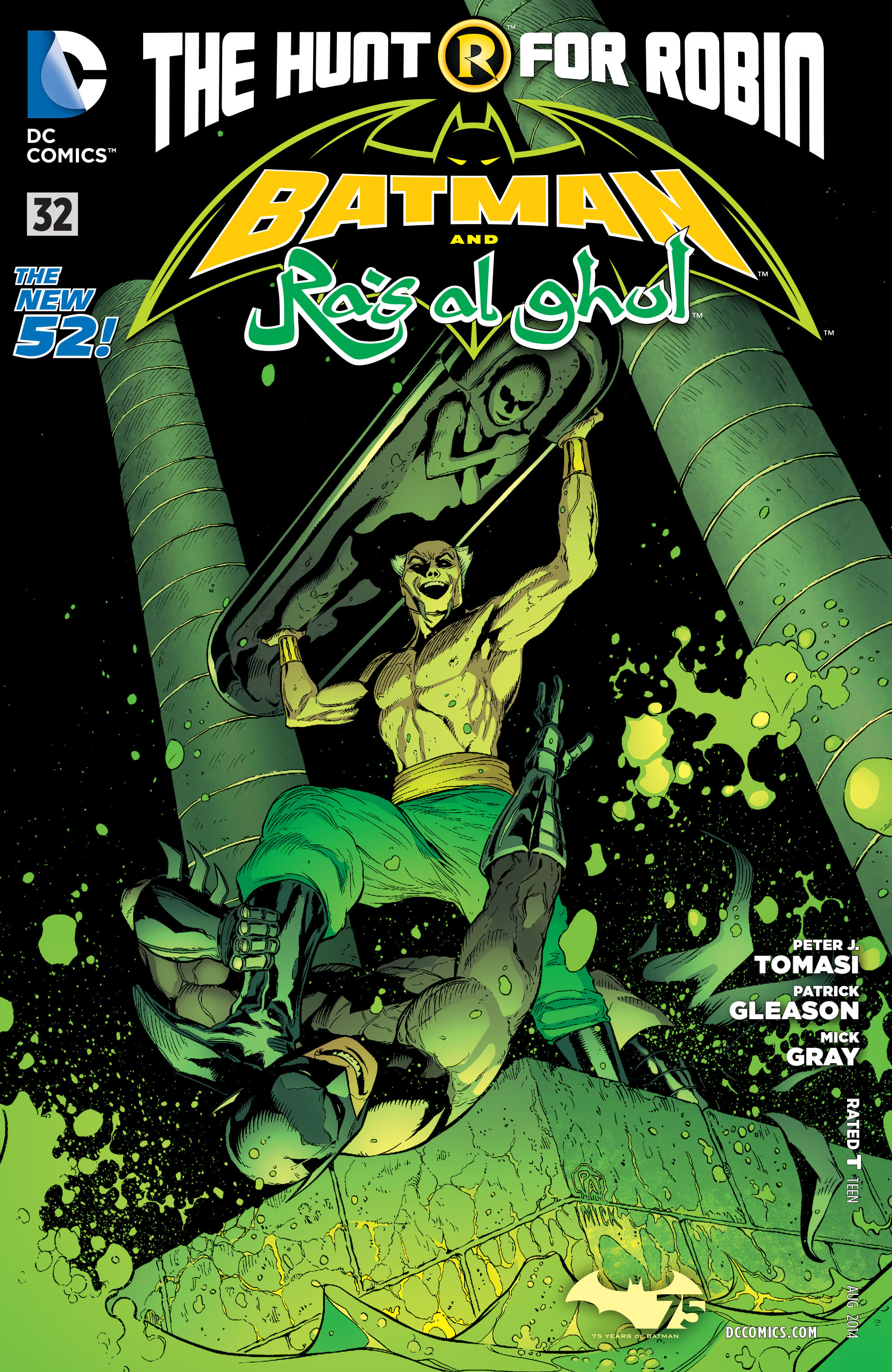 Read online Batman and Robin (2011) comic -  Issue #32 - Batman and Ra's al Ghul - 1