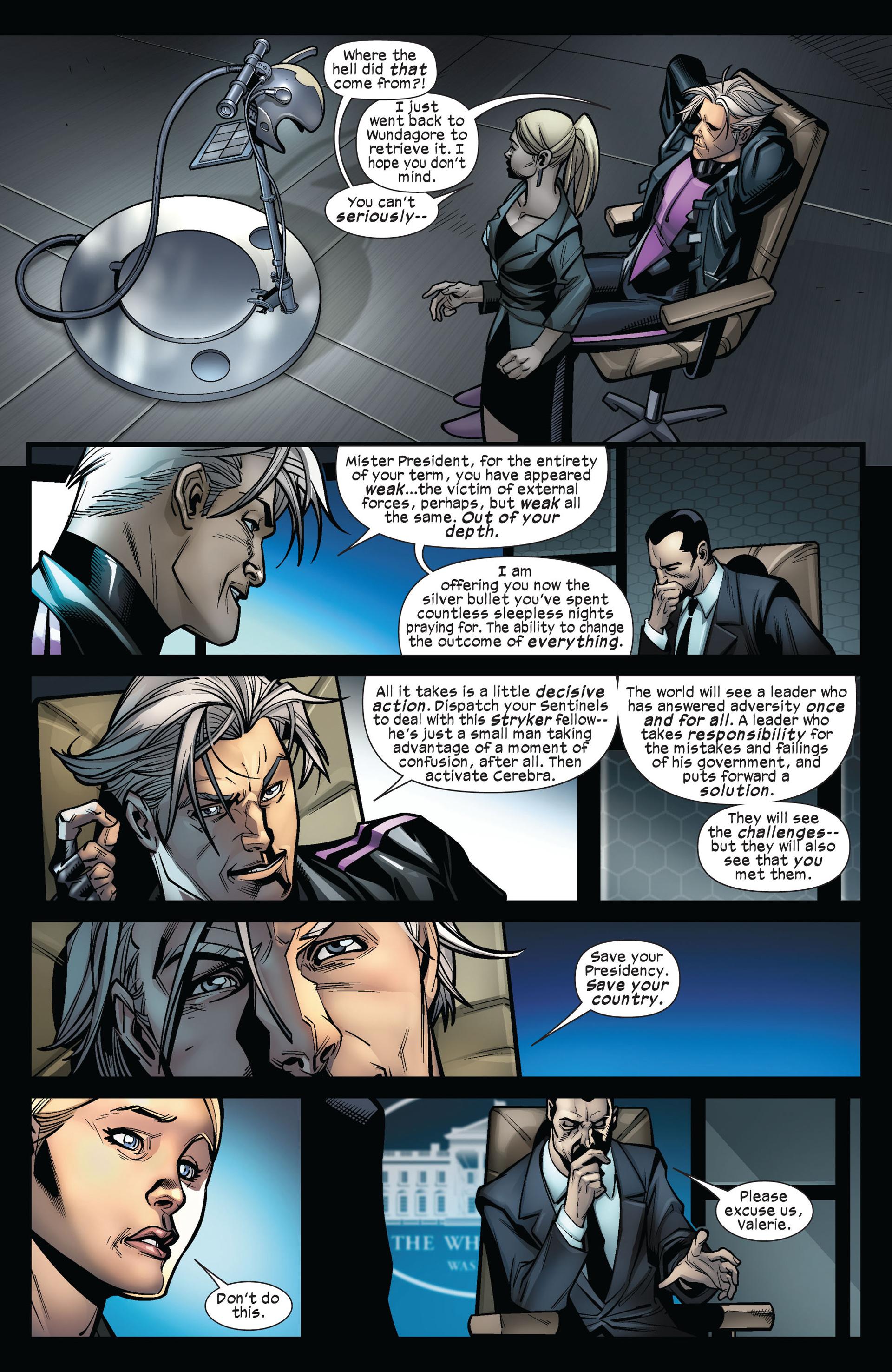 Read online Ultimate Comics X-Men comic -  Issue #5 - 9