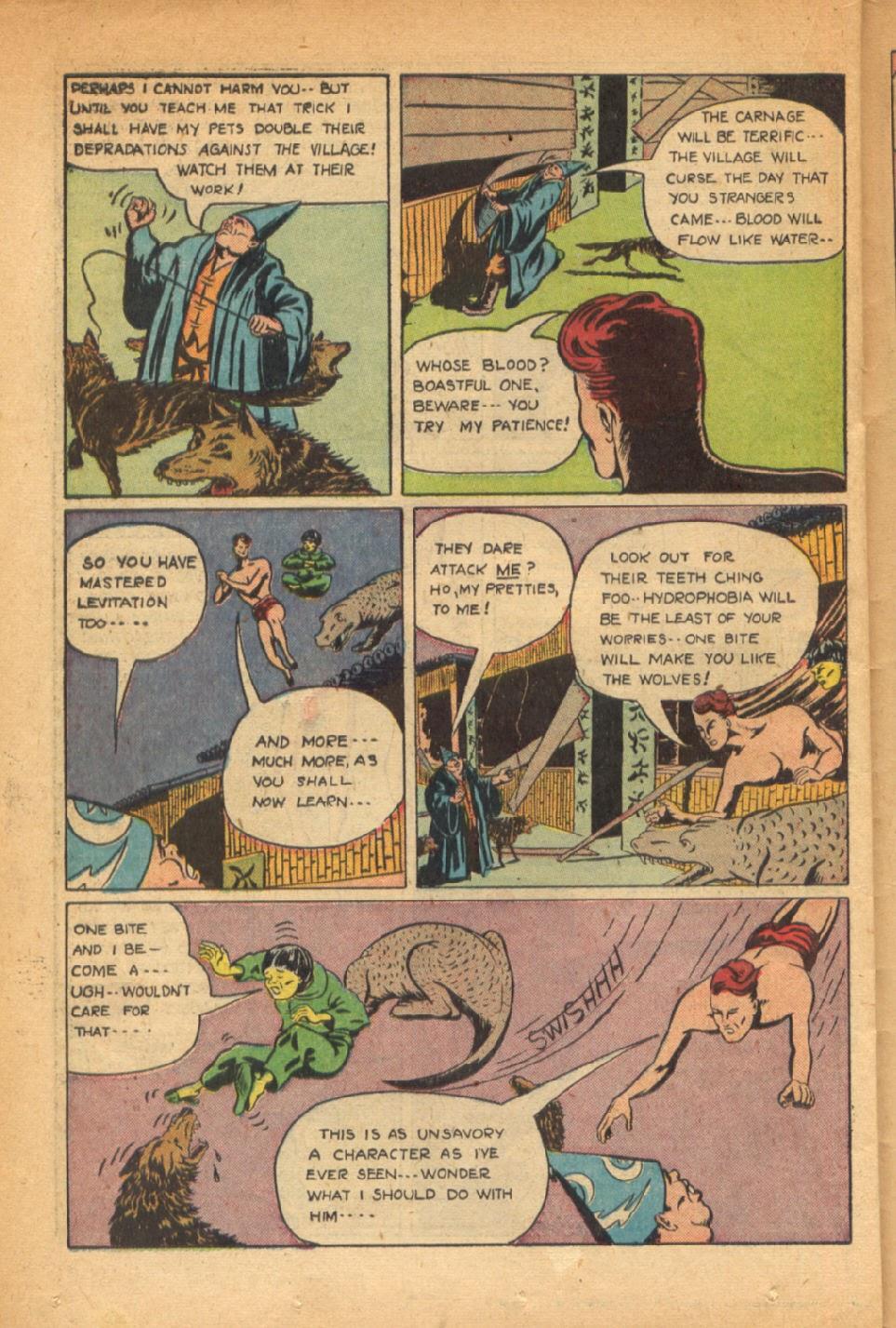 Read online Super-Magician Comics comic -  Issue #54 - 33