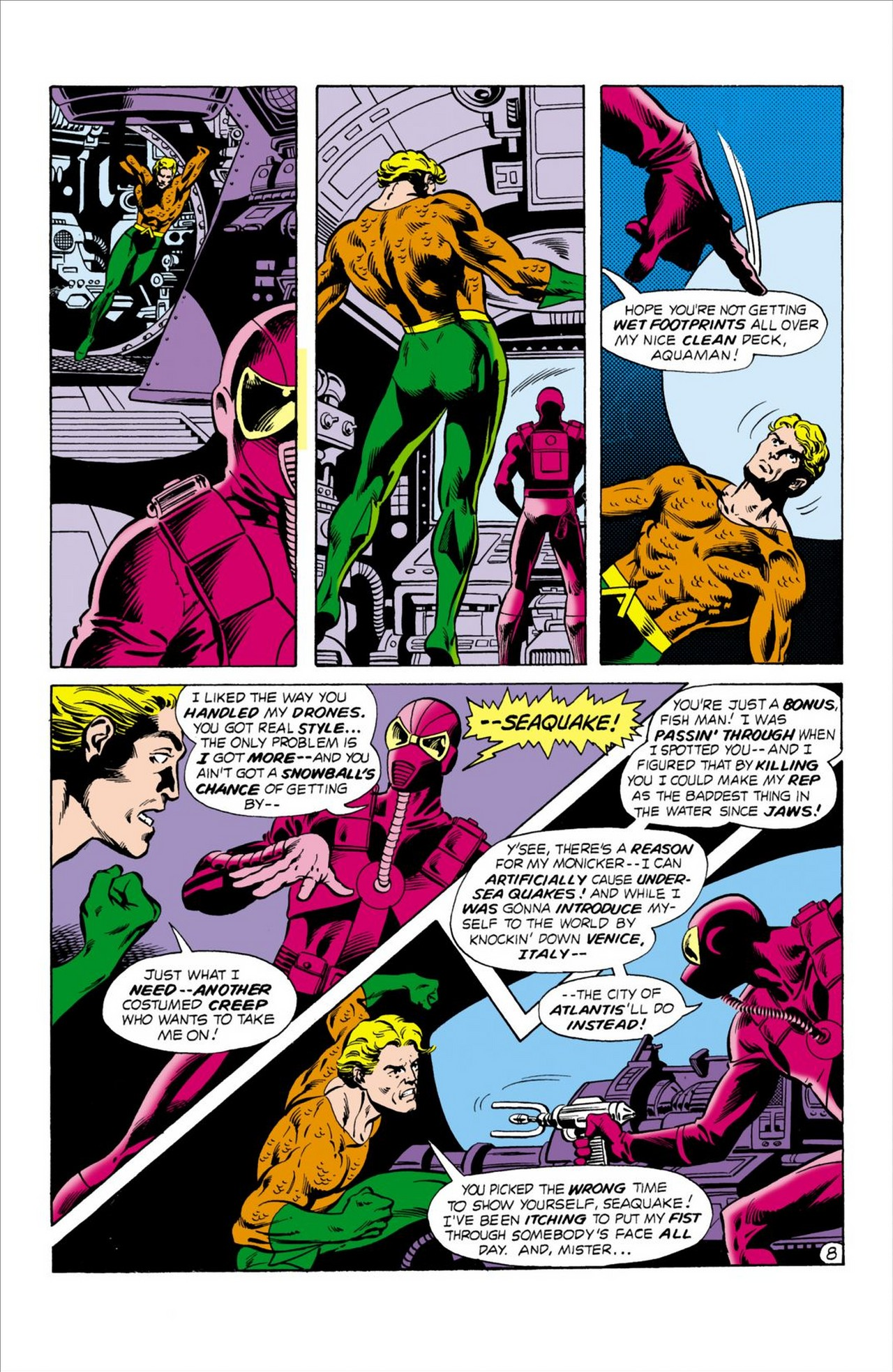 Read online Aquaman (1962) comic -  Issue #62 - 9