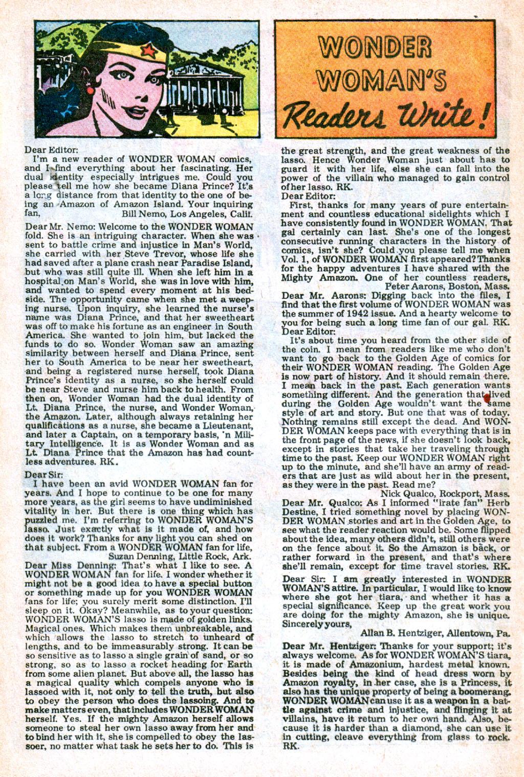 Read online Wonder Woman (1942) comic -  Issue #173 - 24