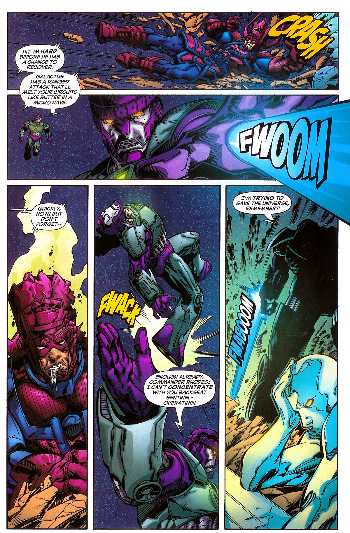 Read online Sentinel Squad O*N*E comic -  Issue #2 - 4
