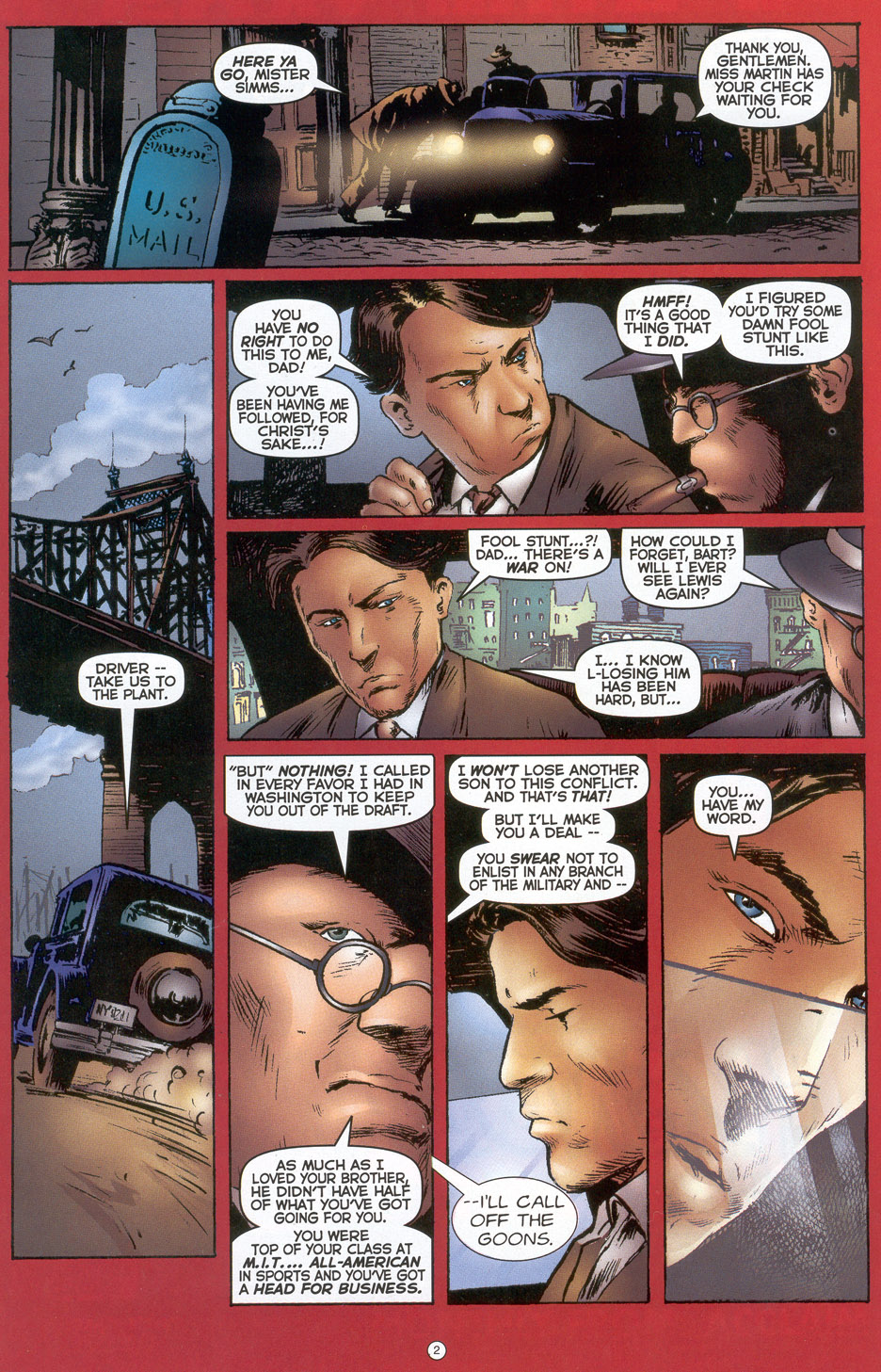 Read online Doctor Tomorrow comic -  Issue #3 - 3