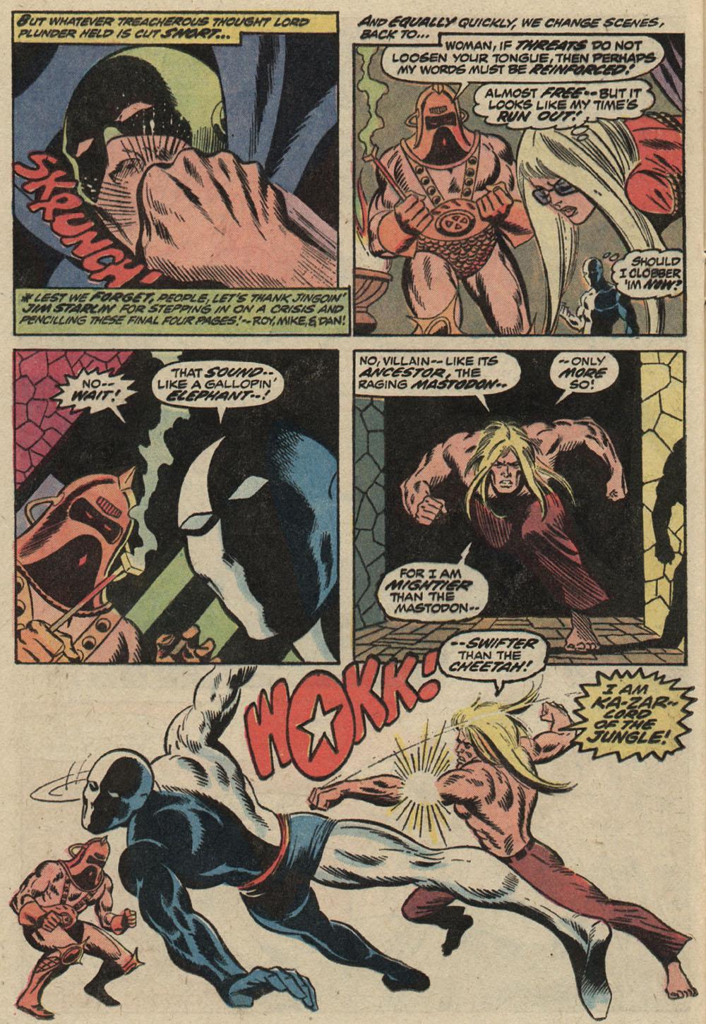 Read online Astonishing Tales (1970) comic -  Issue #19 - 17