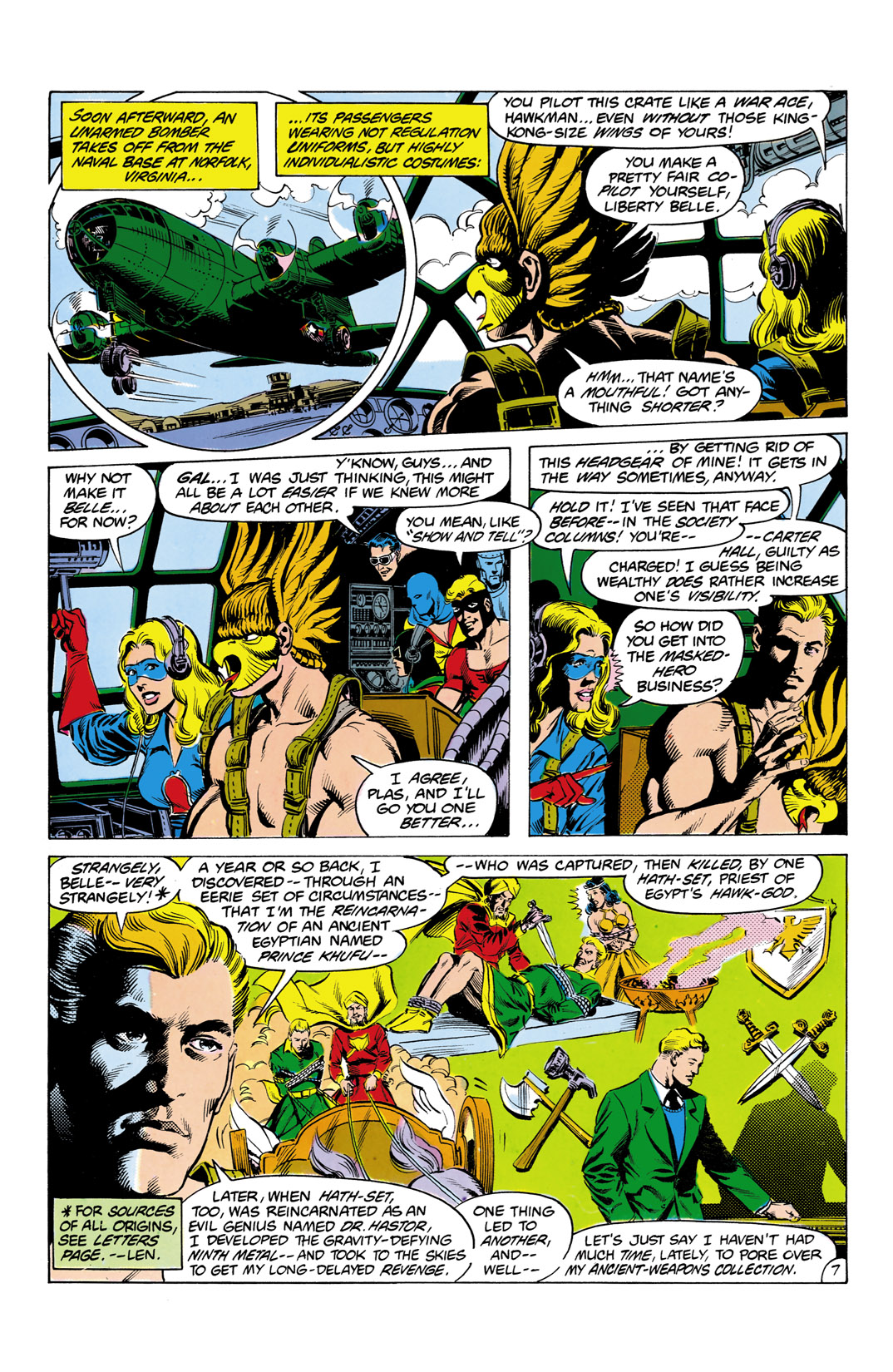 Read online All-Star Squadron comic -  Issue #2 - 8
