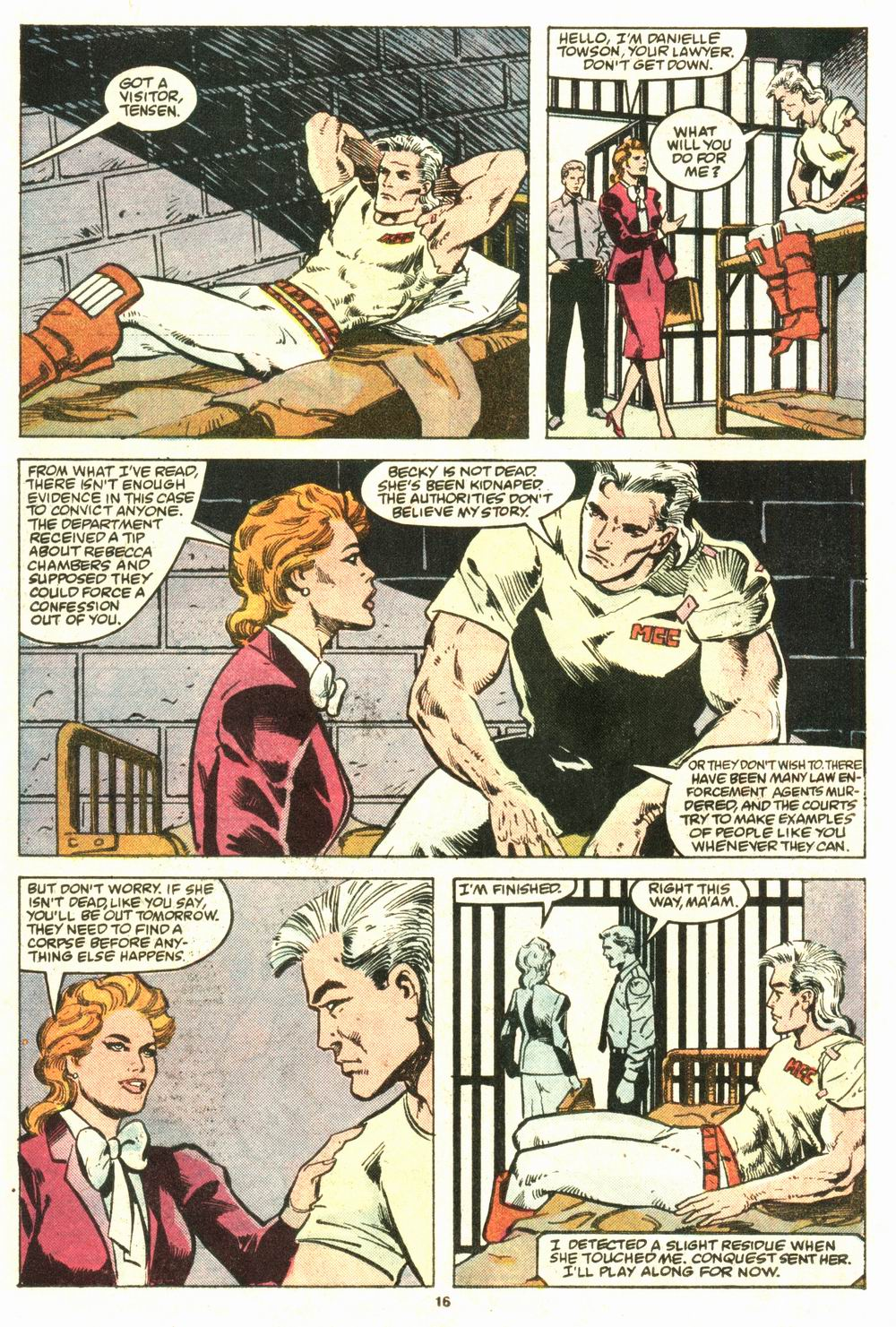 Read online Justice (1986) comic -  Issue #8 - 17