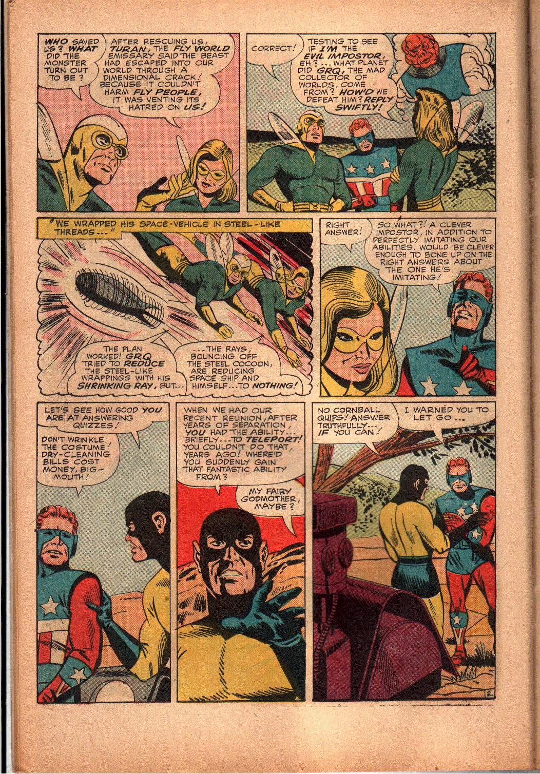 The Mighty Crusaders (1965) Issue #3 #3 - English 11