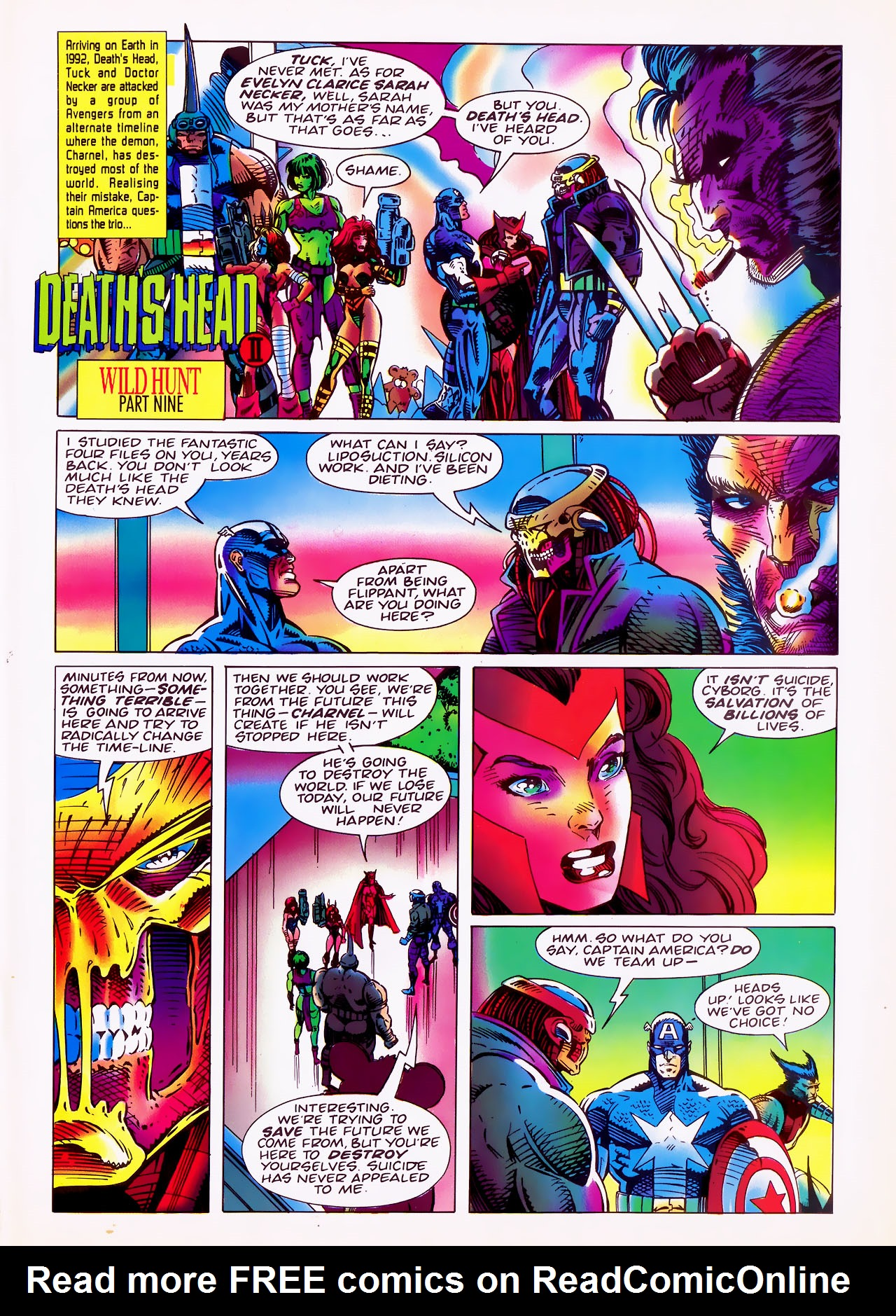 Read online Overkill comic -  Issue #20 - 3
