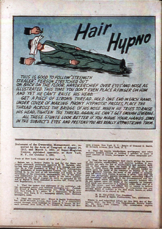 Read online Super-Magician Comics comic -  Issue #3 - 43