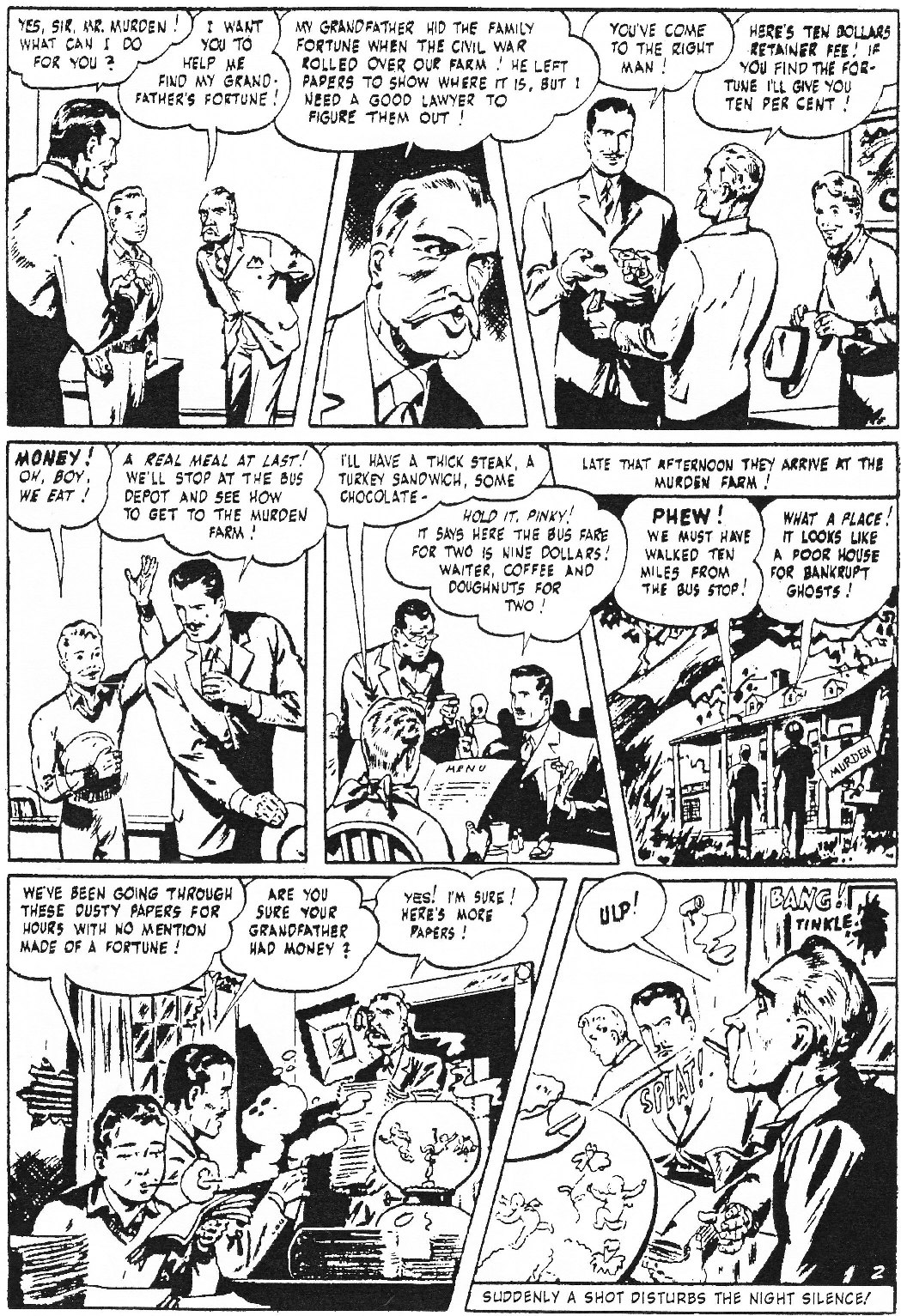 Read online Men of Mystery Comics comic -  Issue #73 - 29