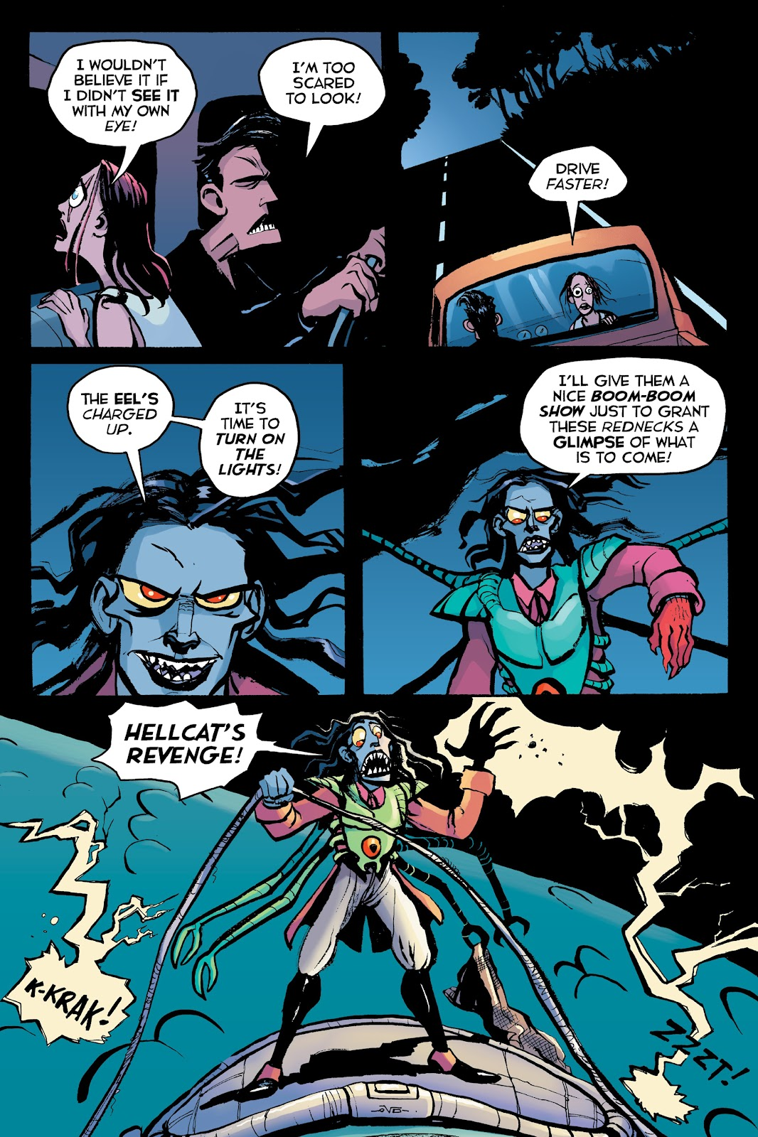 Read online Creature Tech (2019) comic -  Issue # TPB (Part 2) - 80