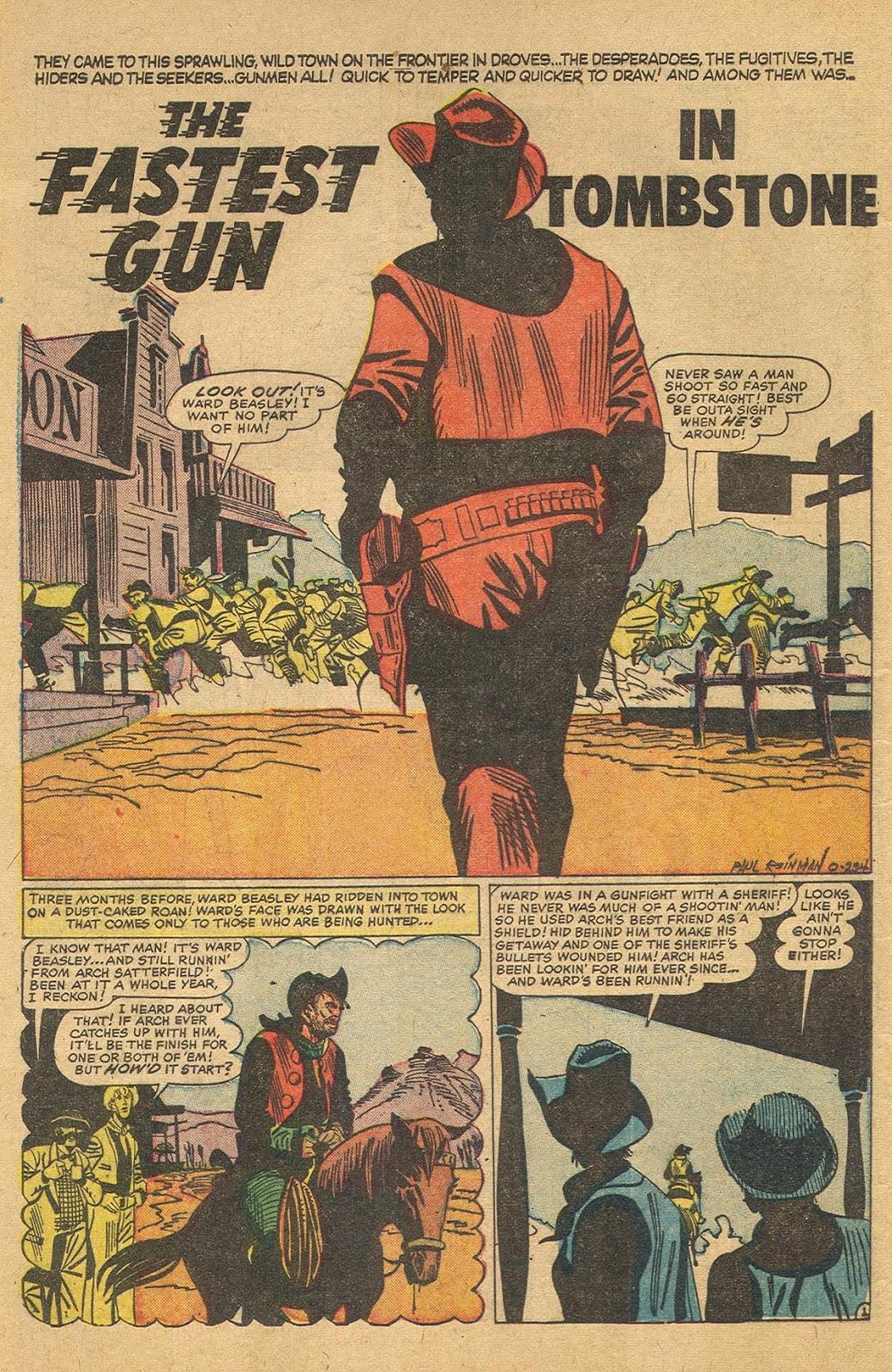 Gunsmoke Western issue 44 - Page 8