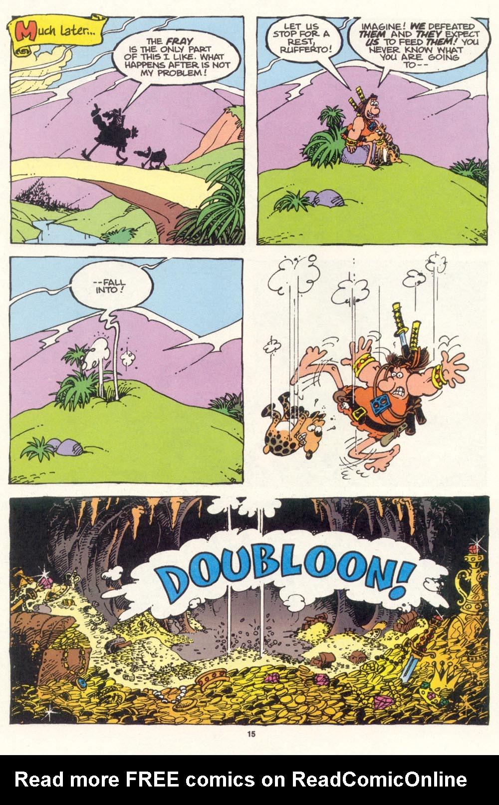 Read online Sergio Aragonés Groo the Wanderer comic -  Issue #100 - 16