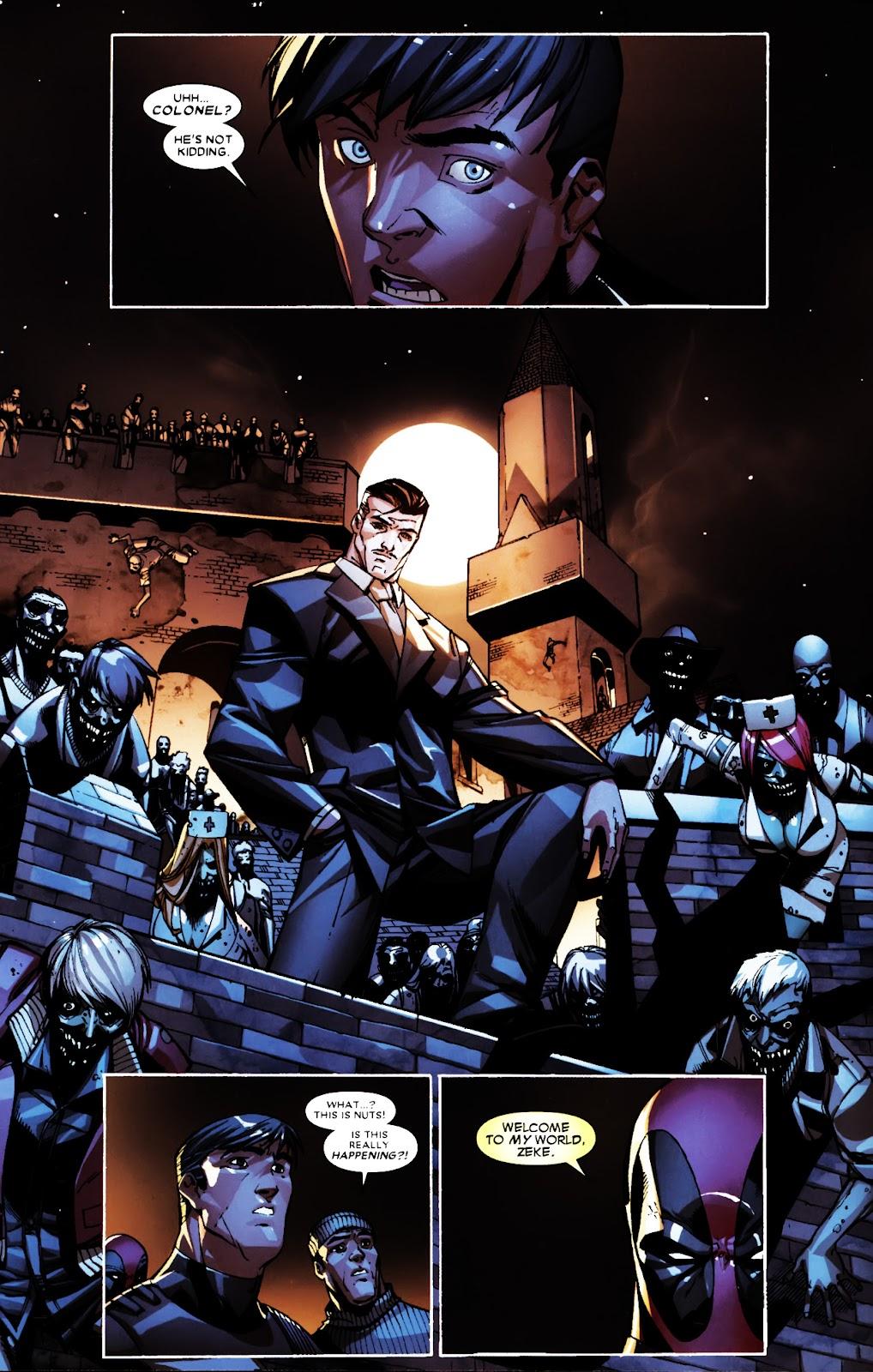 Read online Deadpool (2008) comic -  Issue #5 - 12