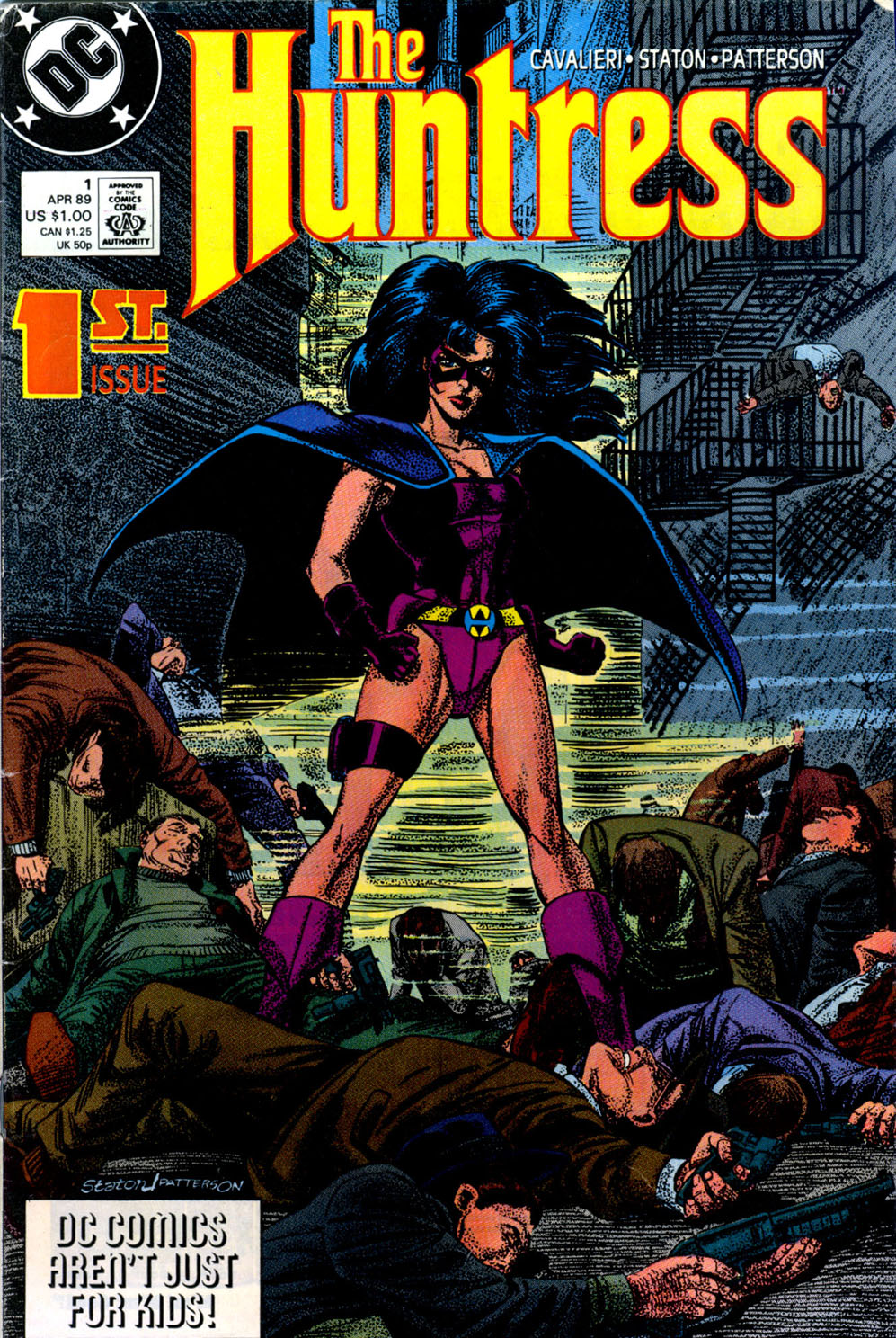Read online The Huntress comic -  Issue #1 - 1