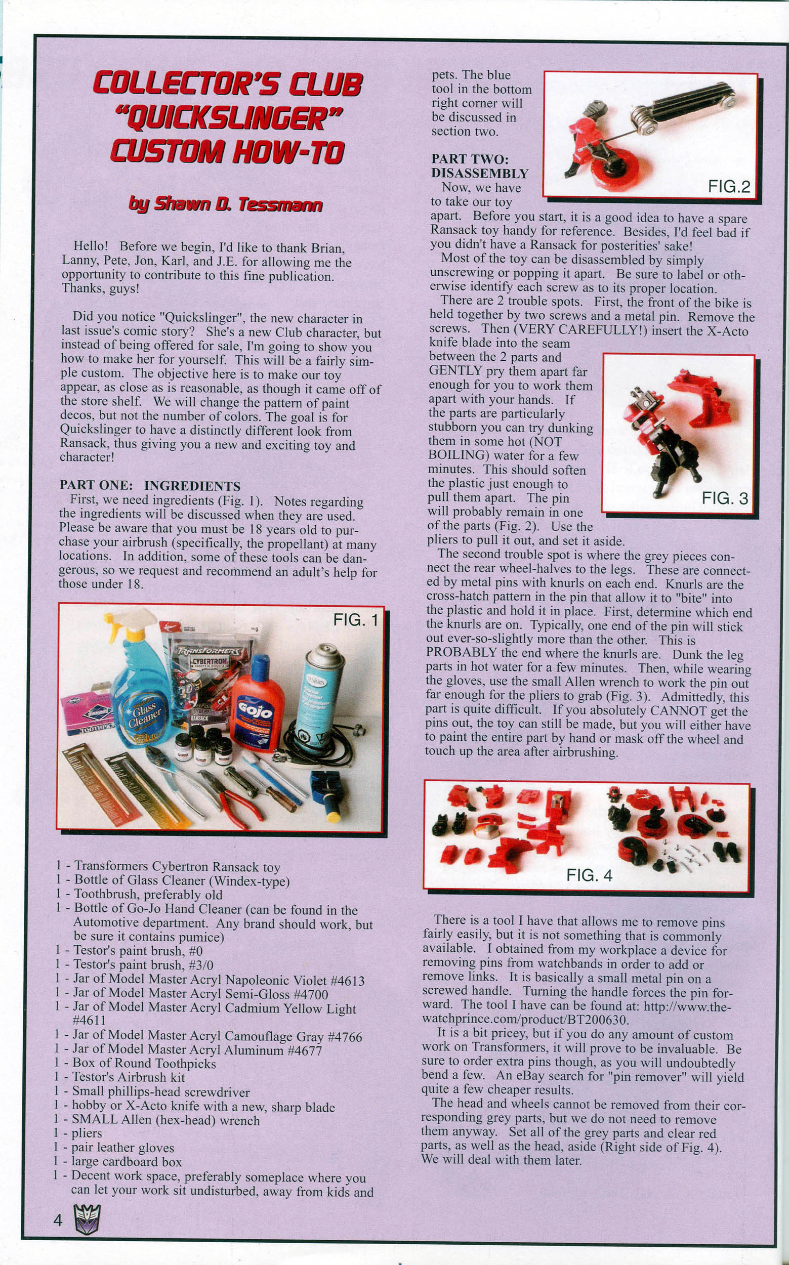 Read online Transformers: Collectors' Club comic -  Issue #7 - 4