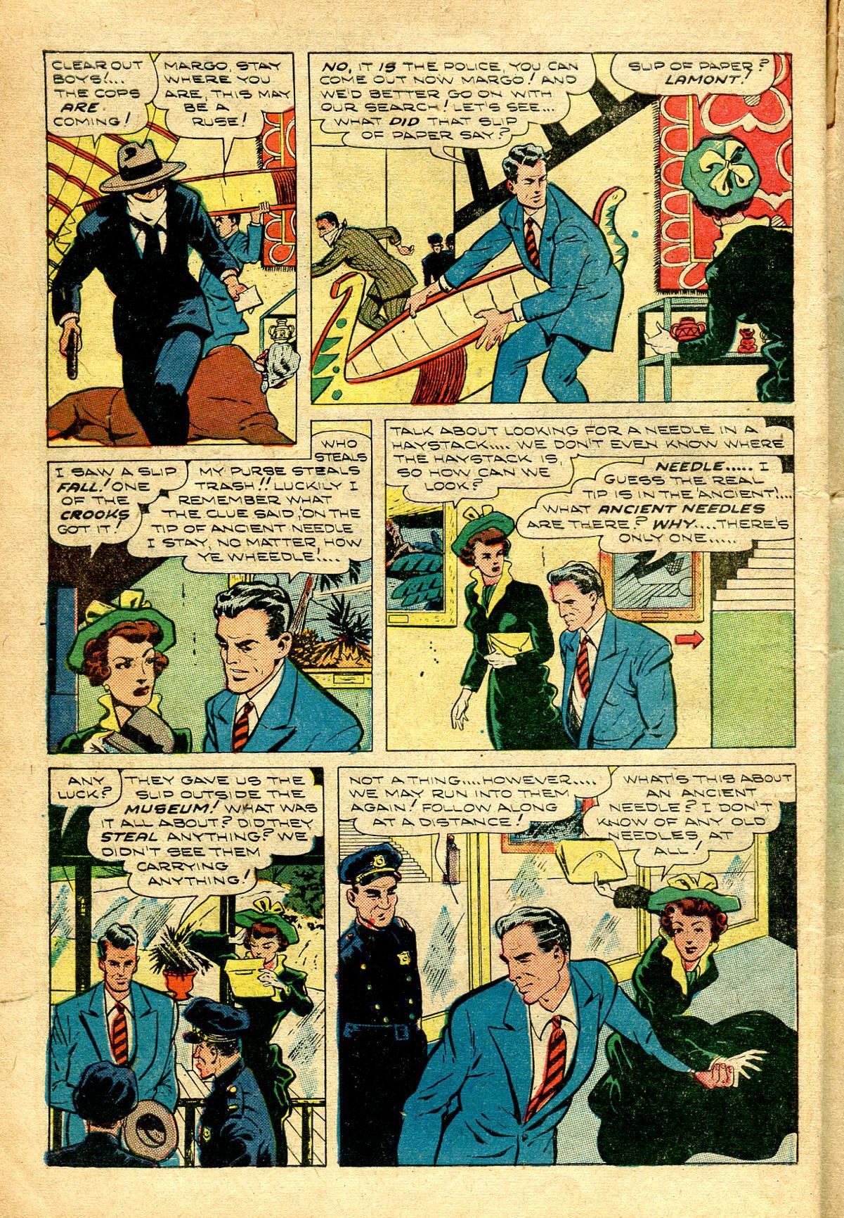 Read online Shadow Comics comic -  Issue #96 - 10